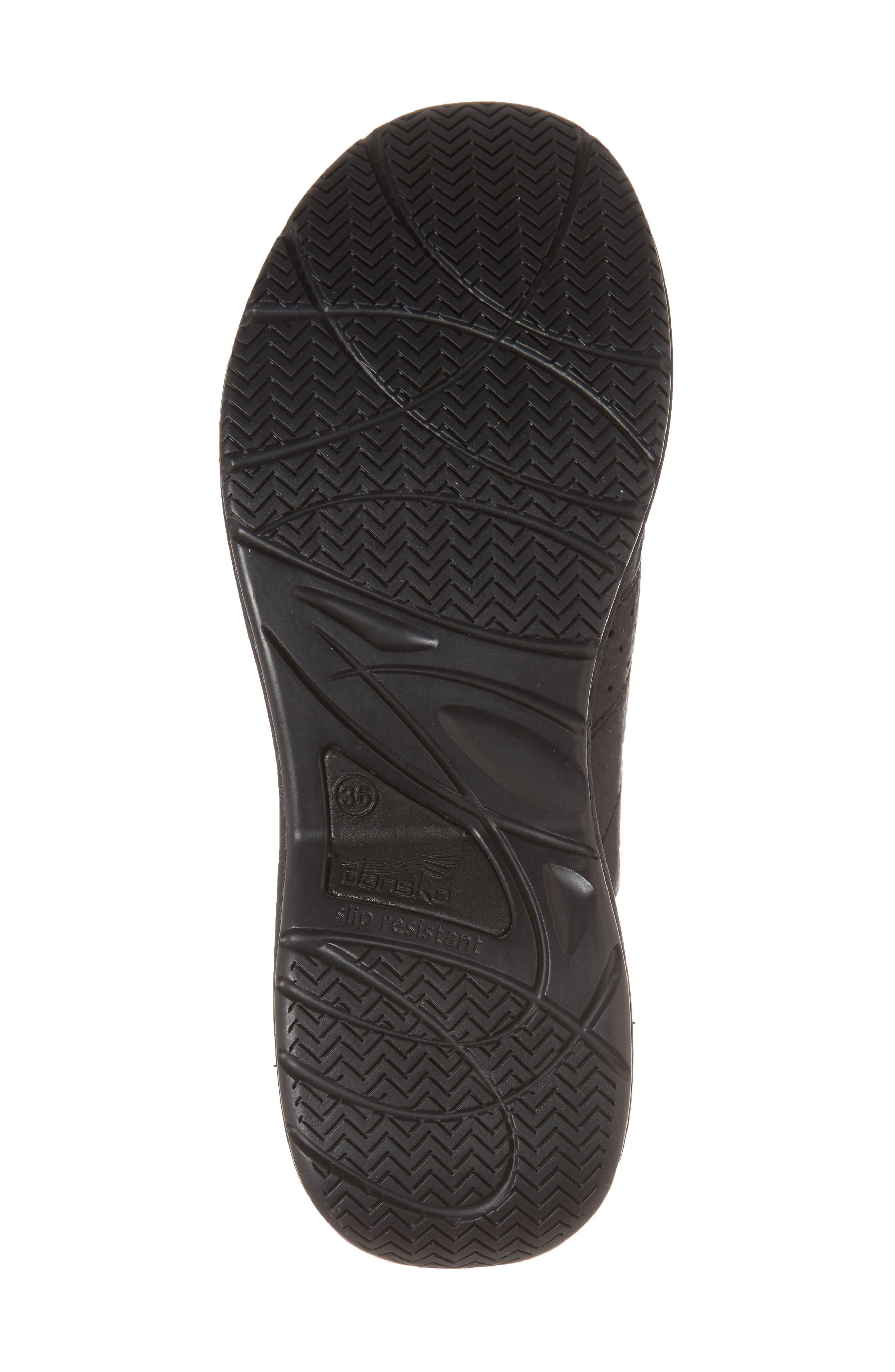 Dankso Shelly Mule,                             Alternate thumbnail 6, color,                             Black Leather