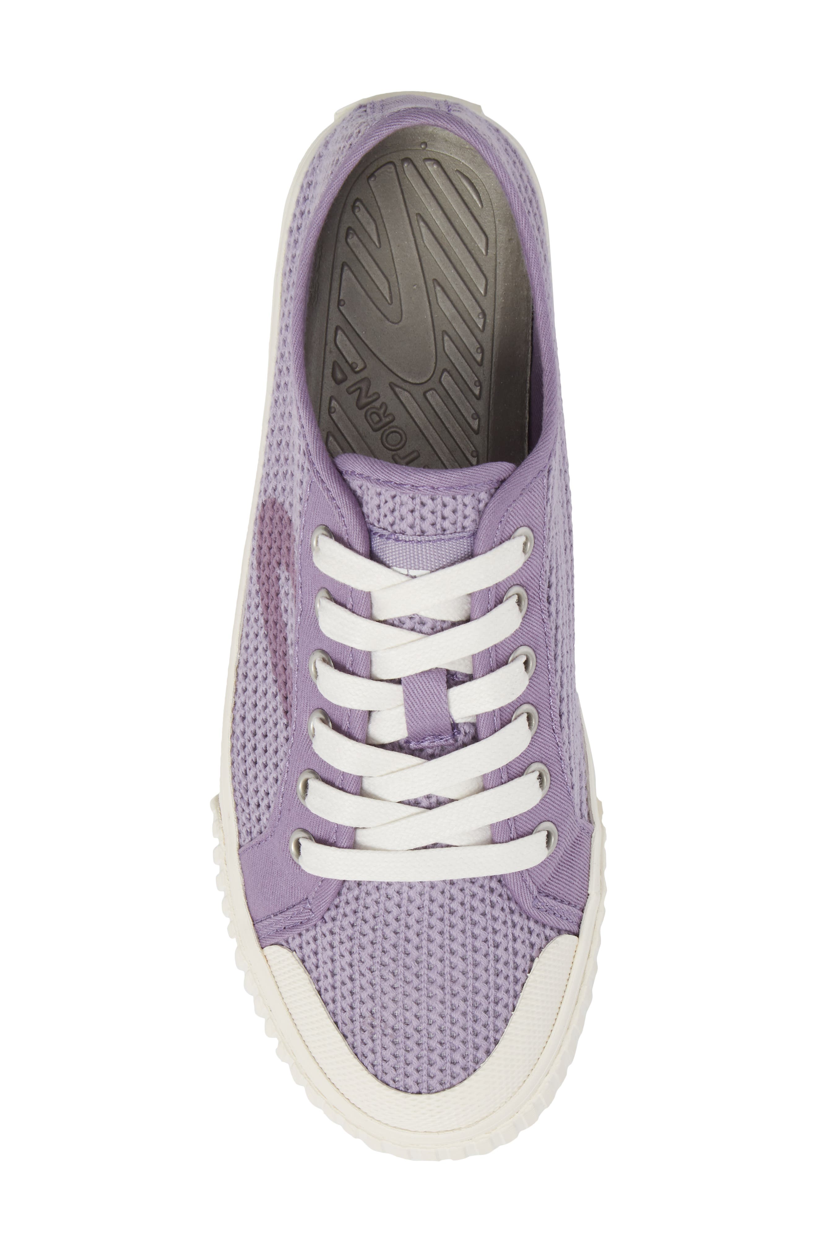 'Tournament Net' Sneaker,                             Alternate thumbnail 5, color,                             Lavender Cotton Mesh