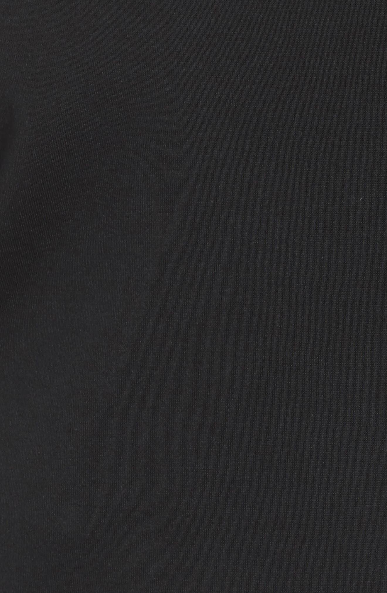 Sportswear Tech Fleece Zip Cape,                             Alternate thumbnail 5, color,                             Black/ Black
