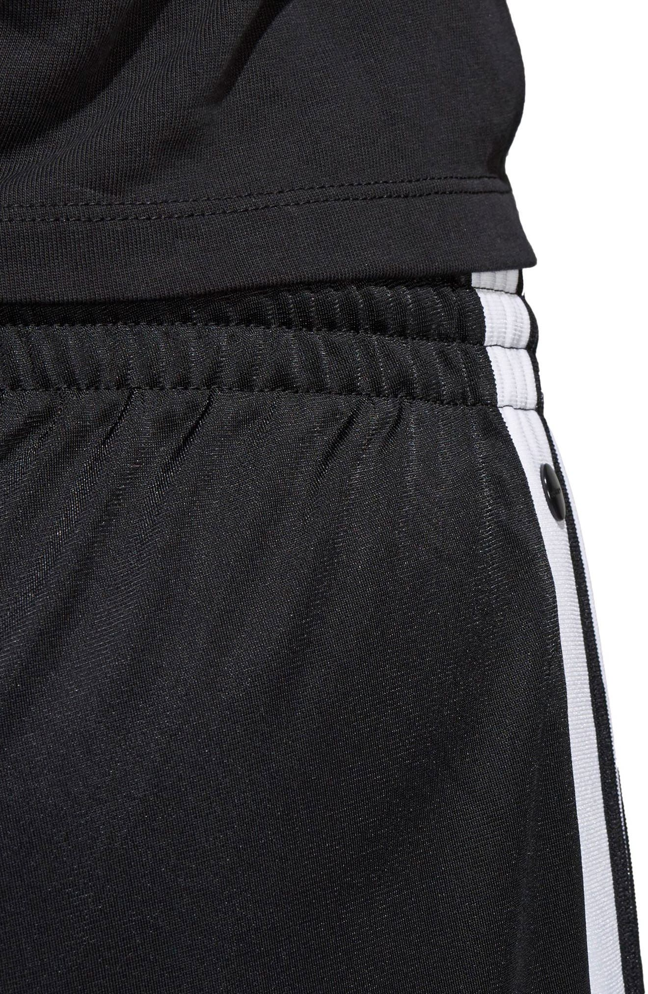 Originals Adibreak Tearaway Track Pants,                             Alternate thumbnail 4, color,                             Black/ Carbon