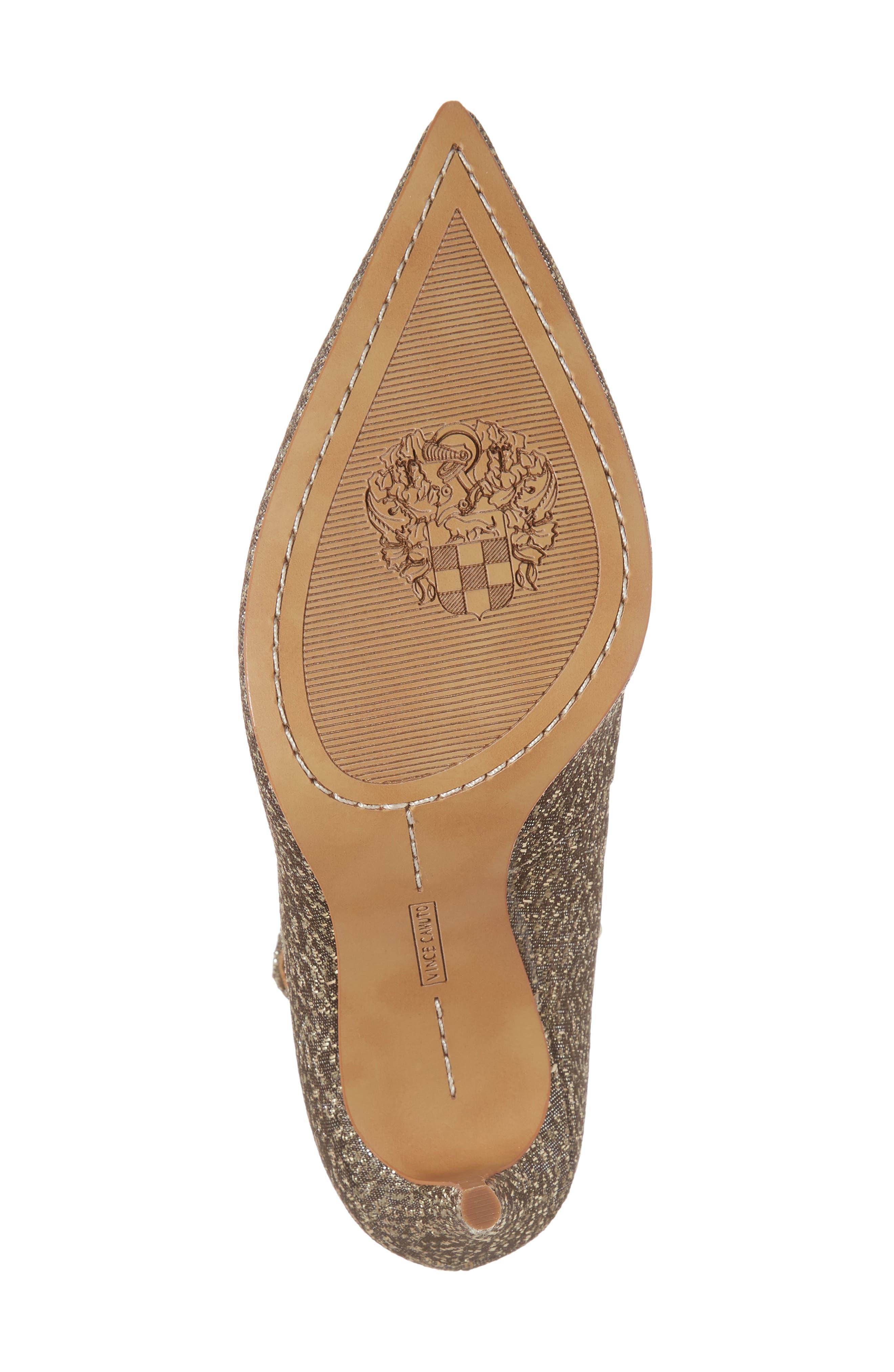 Vine Camuto Jassita Ankle Strap Pump,                             Alternate thumbnail 6, color,                             Bronze