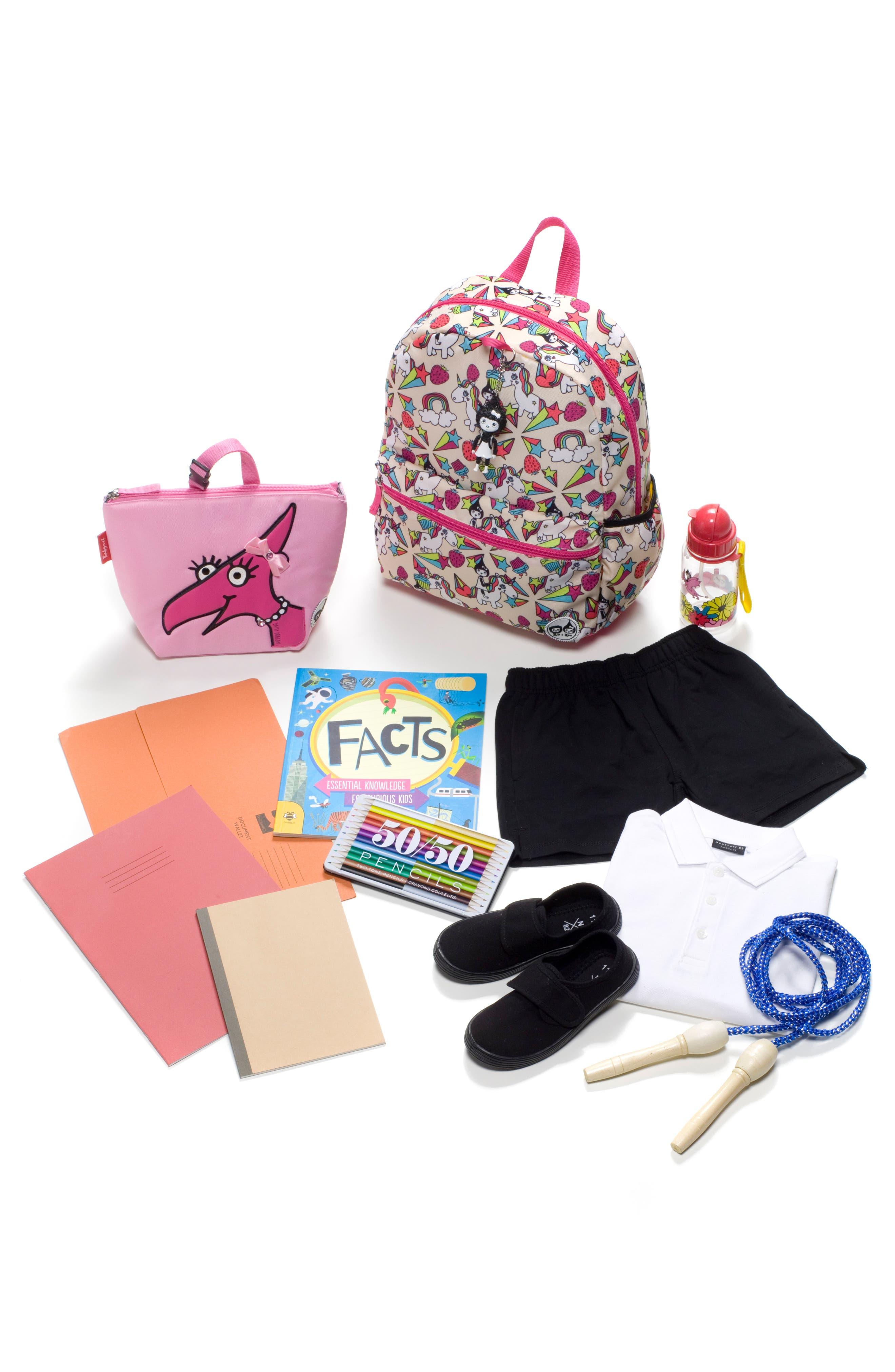 Alternate Image 6  - Babymel Zip & Zoe Unicorn Junior Backpack (Kids)