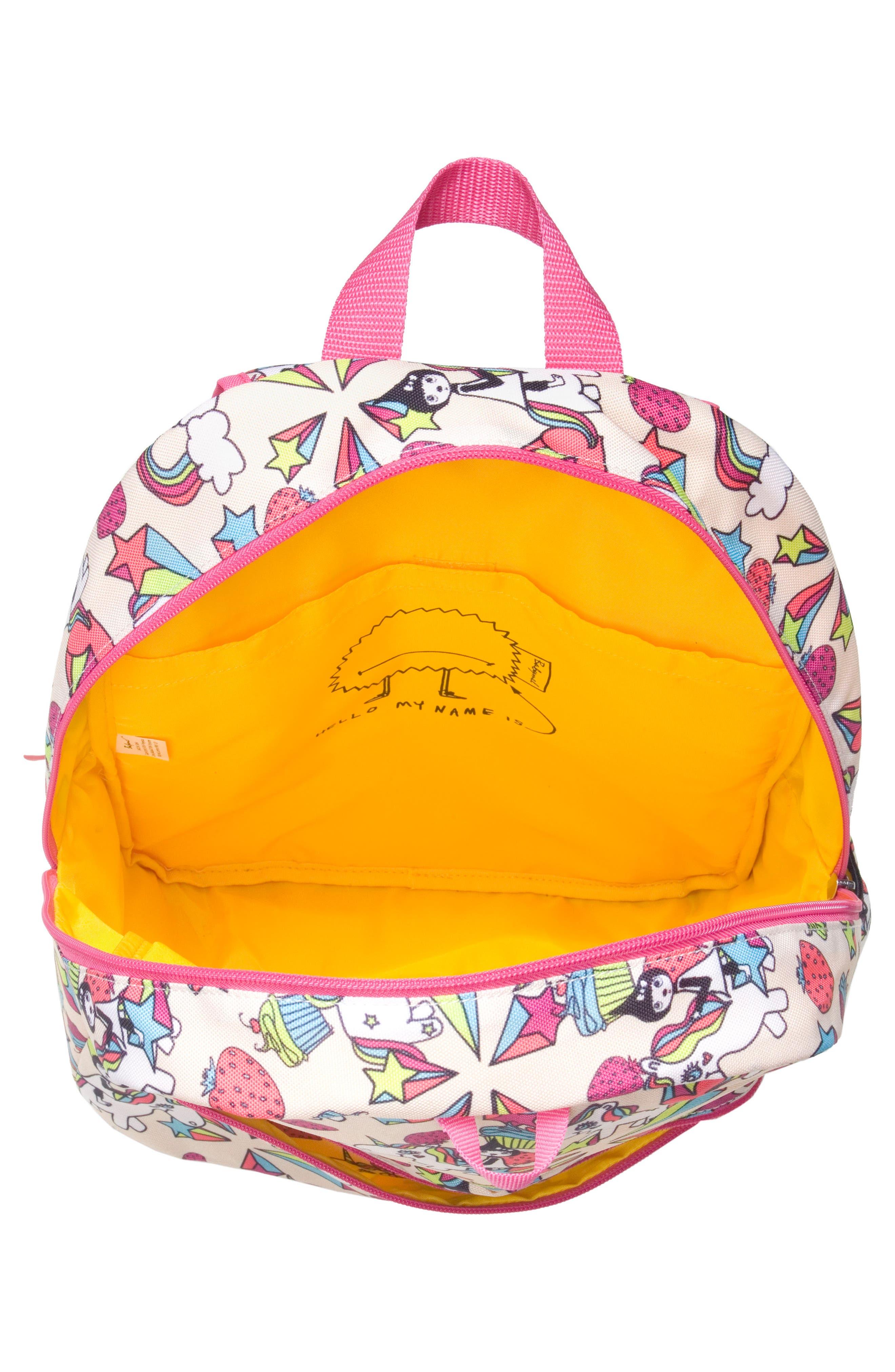 Alternate Image 3  - Babymel Zip & Zoe Unicorn Junior Backpack (Kids)