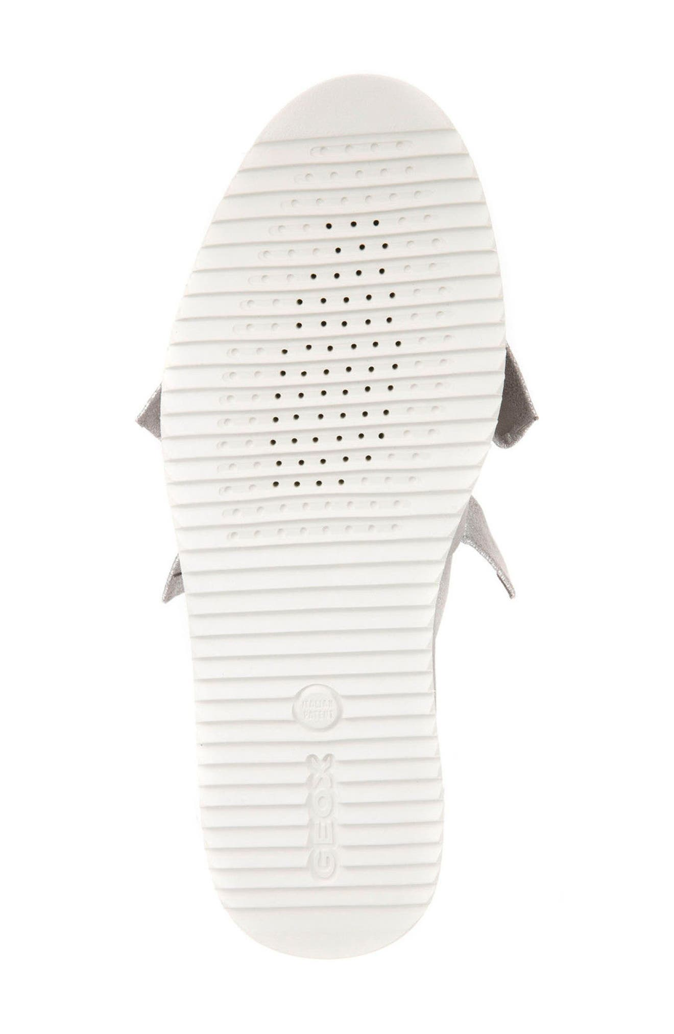 Thymar 15 Slip-On Sneaker,                             Alternate thumbnail 5, color,                             Silver Fabric