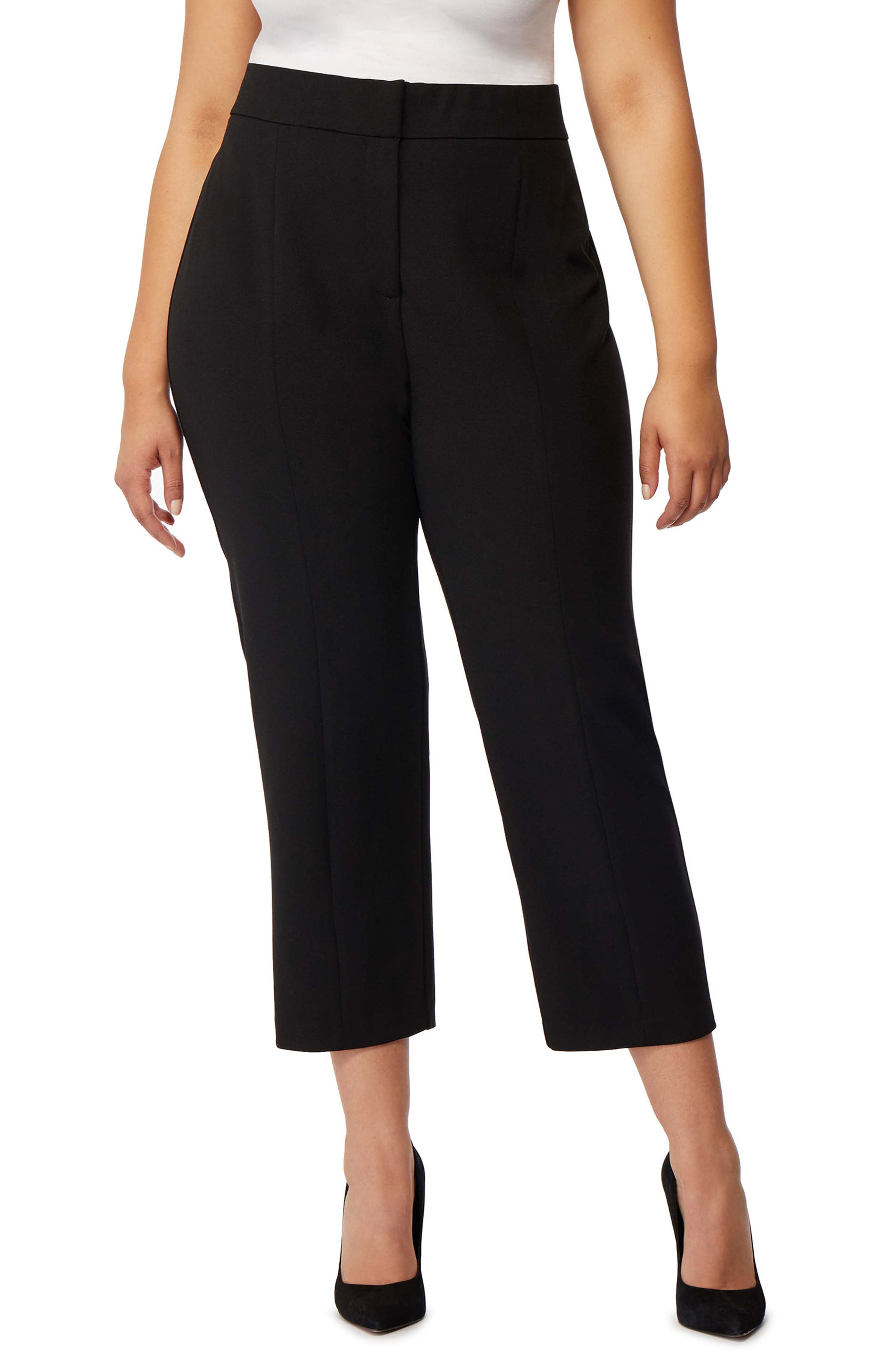 REBEL WILSON X ANGELS Split Hem Pants (Plus Size)