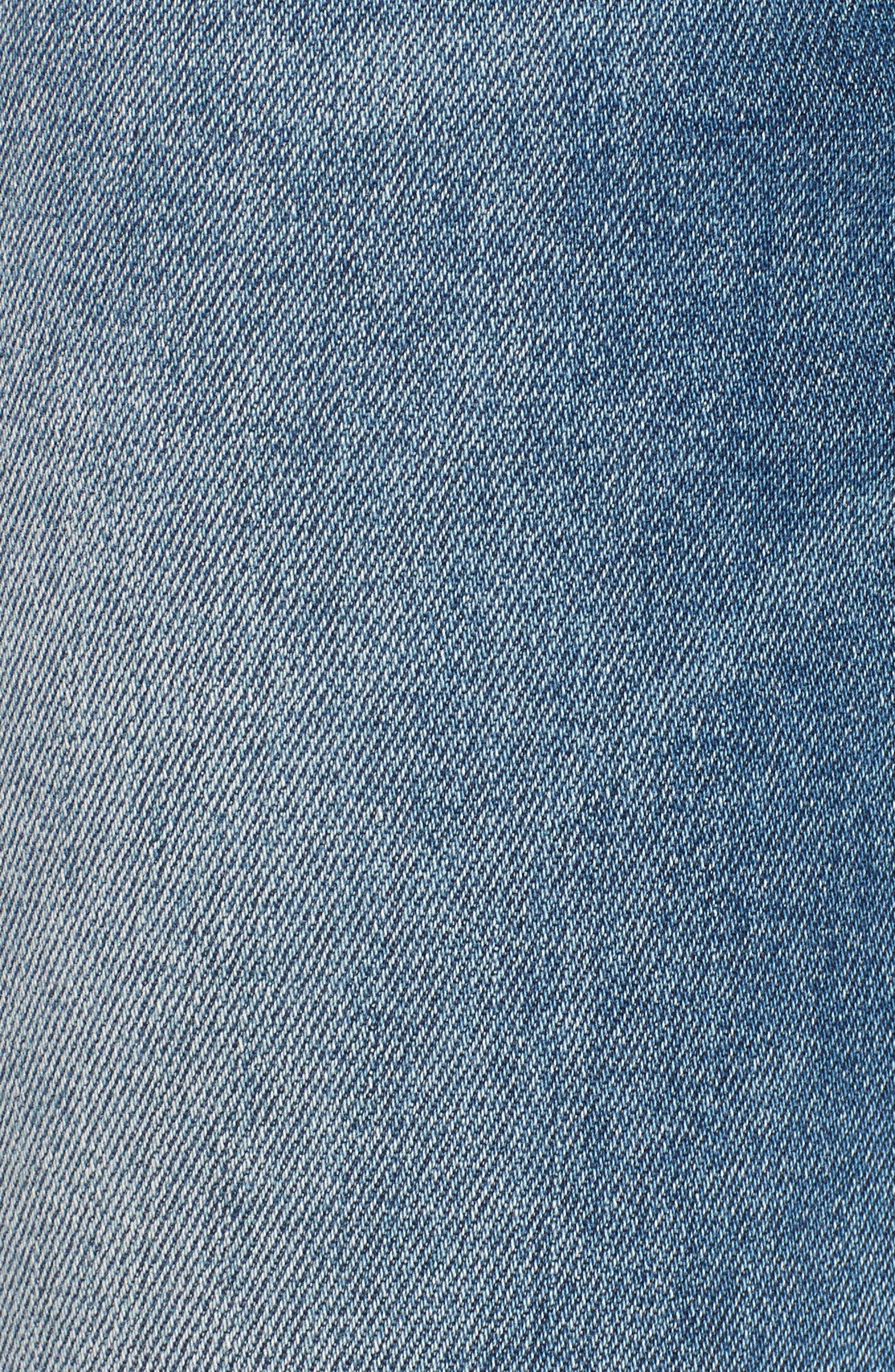 Jagger Decon Distressed Skinny Jeans,                             Alternate thumbnail 6, color,                             Medium Wash