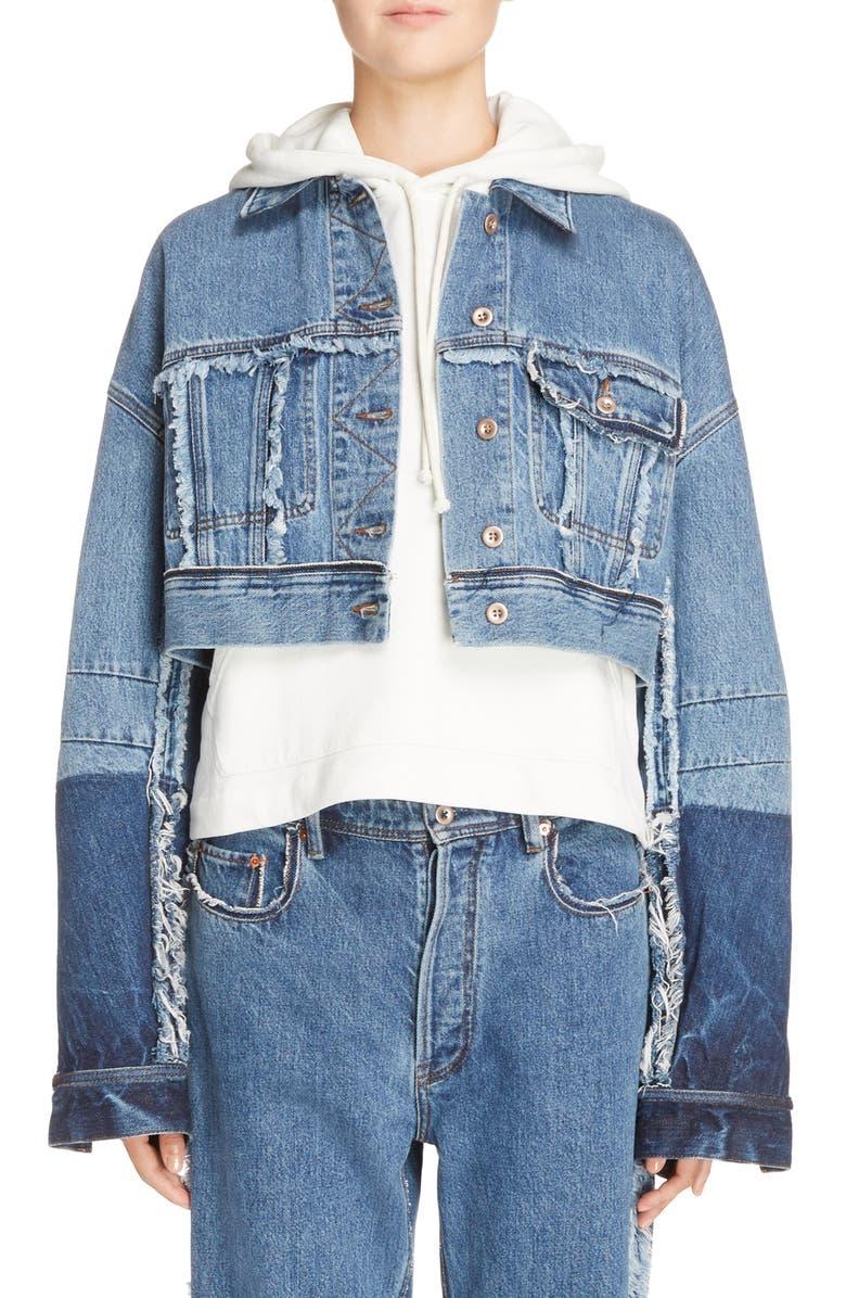 Kremi Crop Denim Jacket