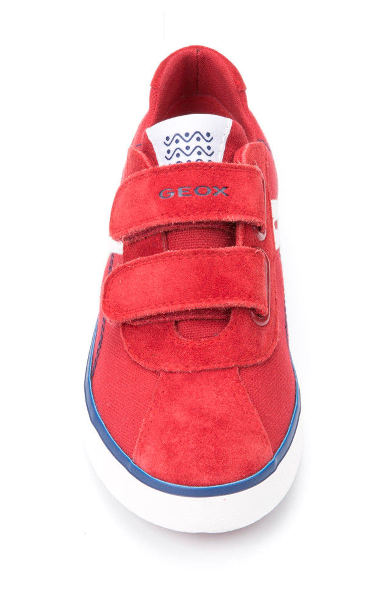 Kilwi Low Top Sneaker,                             Alternate thumbnail 4, color,                             Dark Red/ Navy