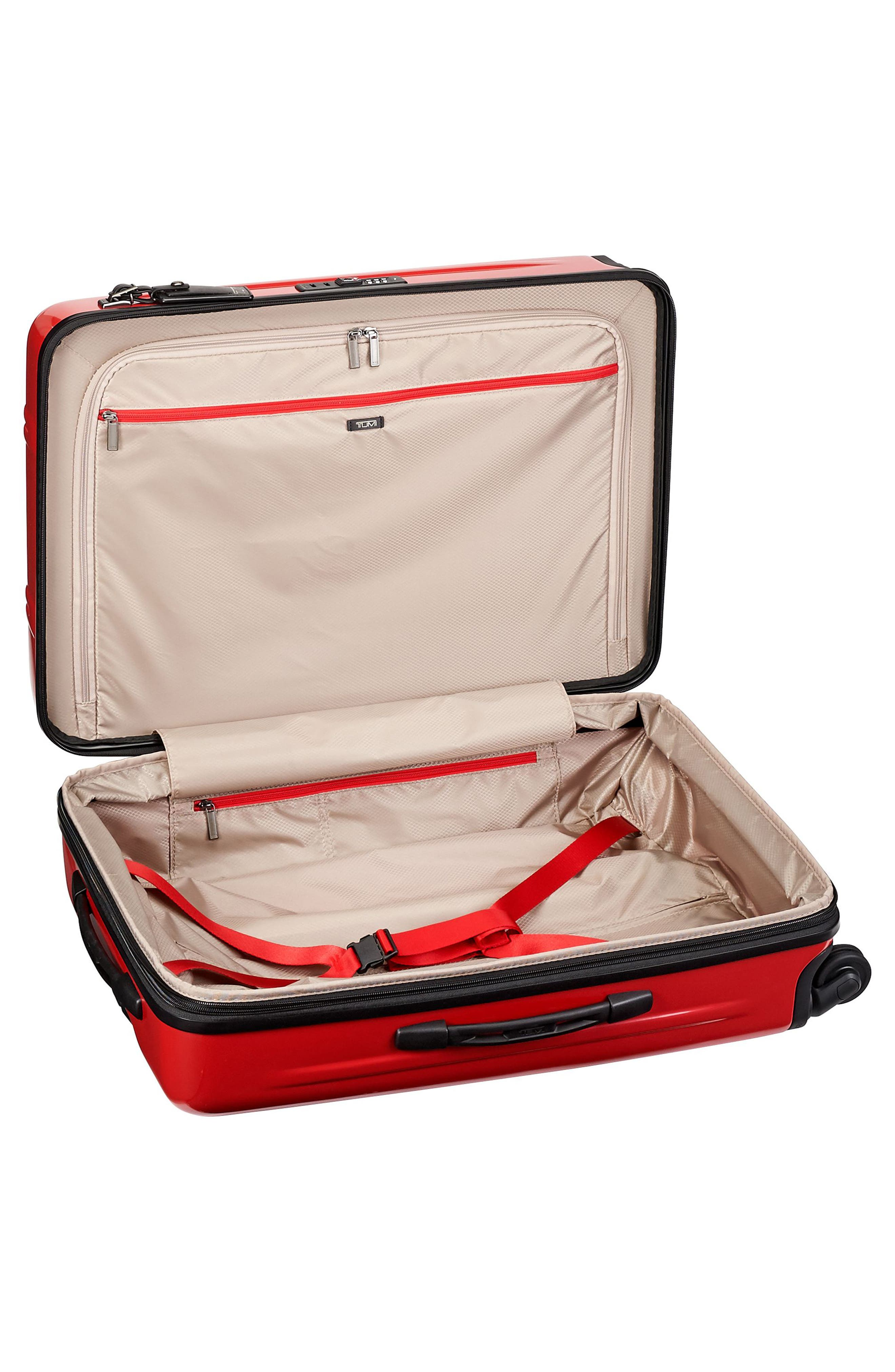 V3 Short Trip 26-Inch Expandable Wheeled Packing Case,                             Alternate thumbnail 3, color,                             Hot Pink