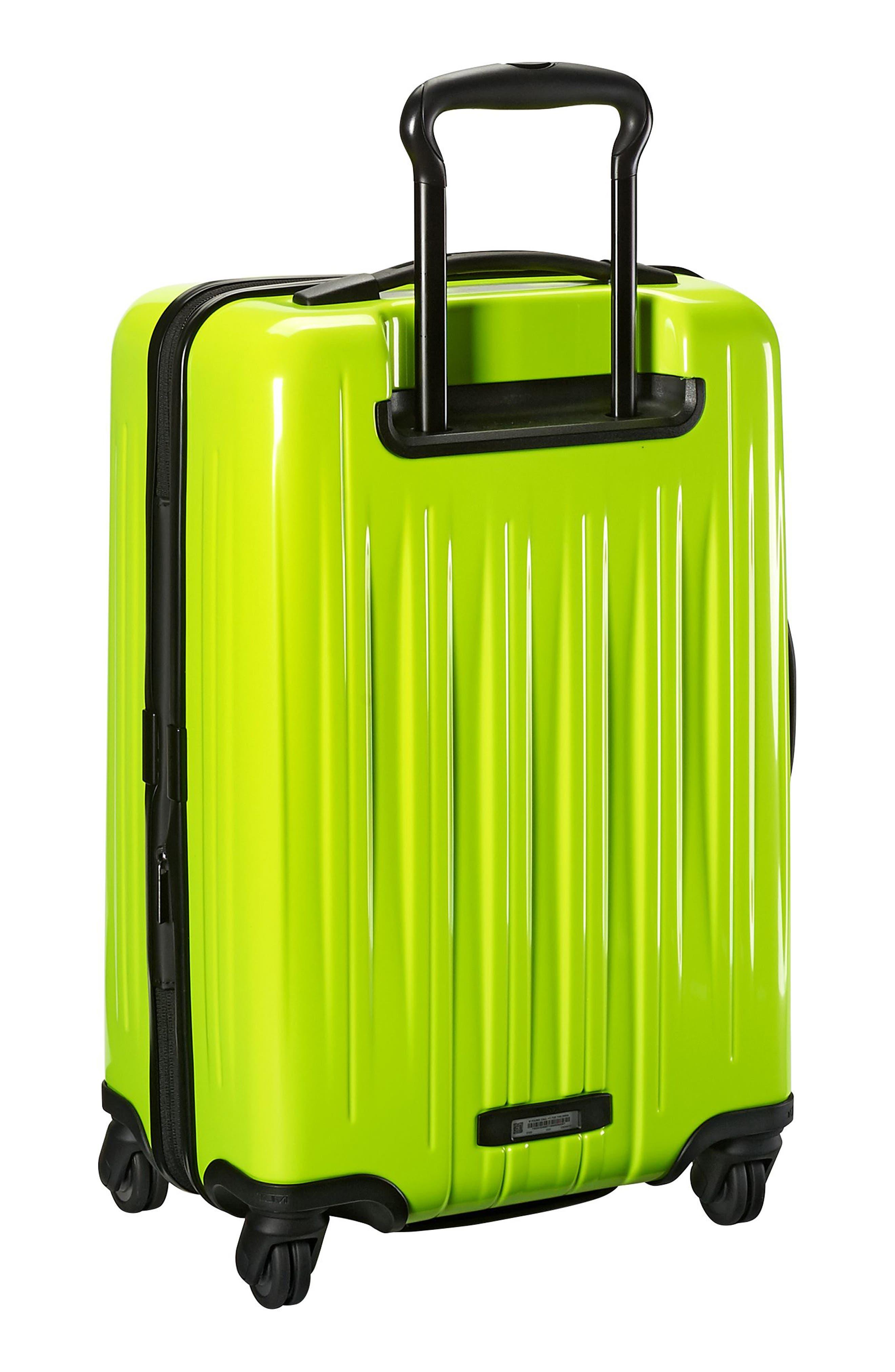 V3 22-Inch International Spinner Packing Case,                             Alternate thumbnail 4, color,                             Citron