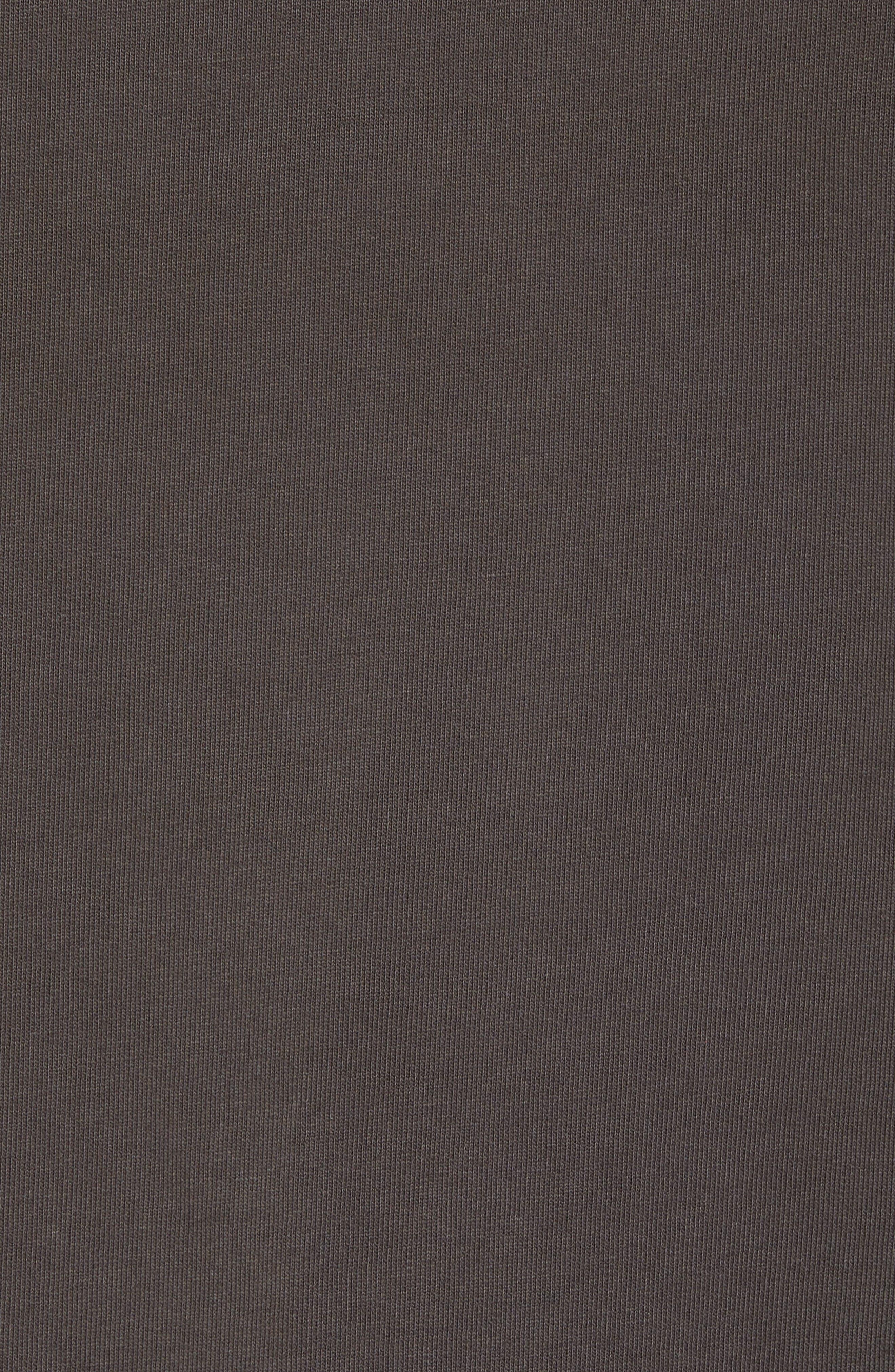 Trevor Slim Fit Crewneck Shirt,                             Alternate thumbnail 5, color,                             Smoke Grey