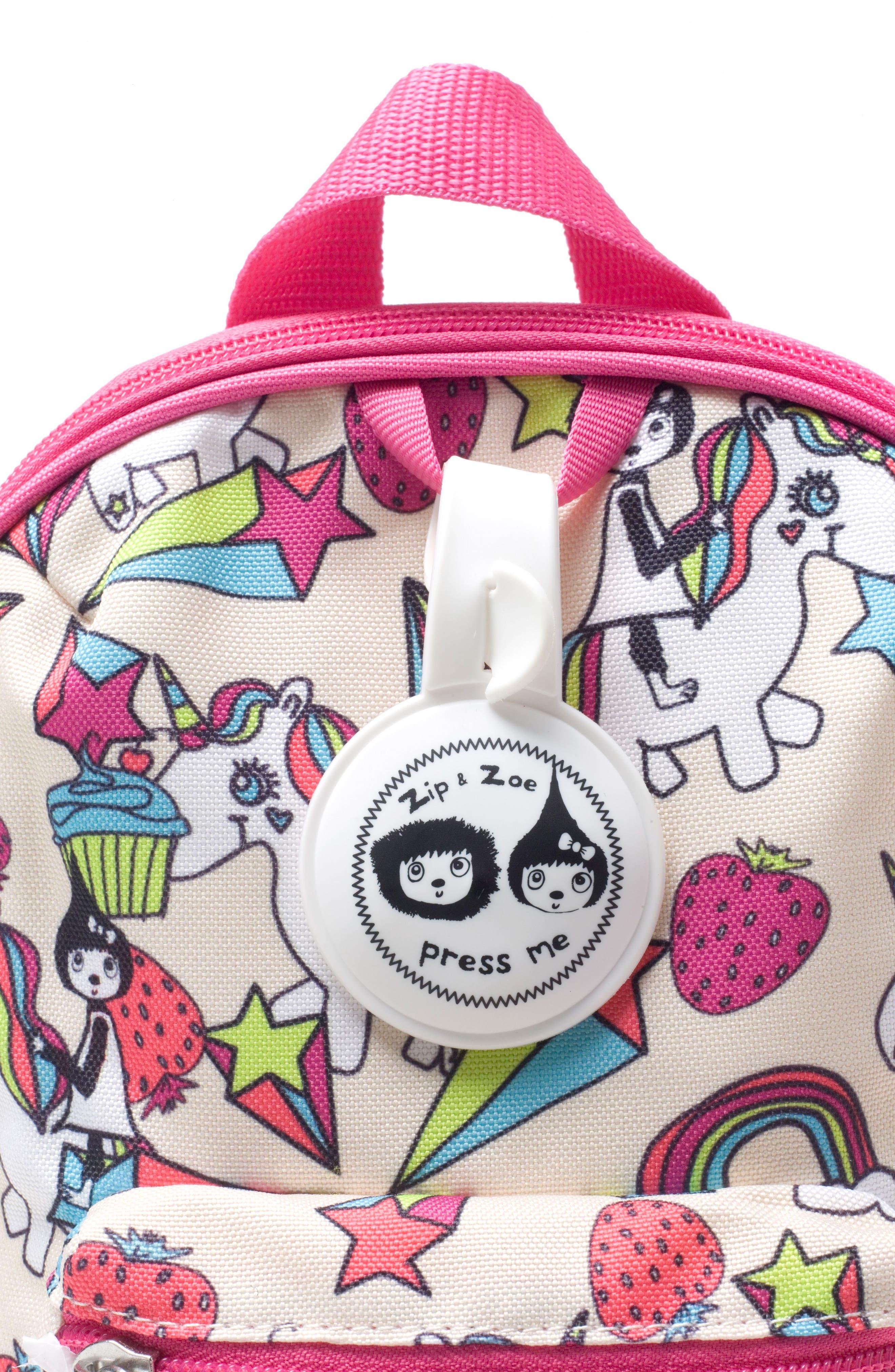 Zip & Zoe Unicorn Mini Backpack,                             Alternate thumbnail 6, color,                             Unicorn