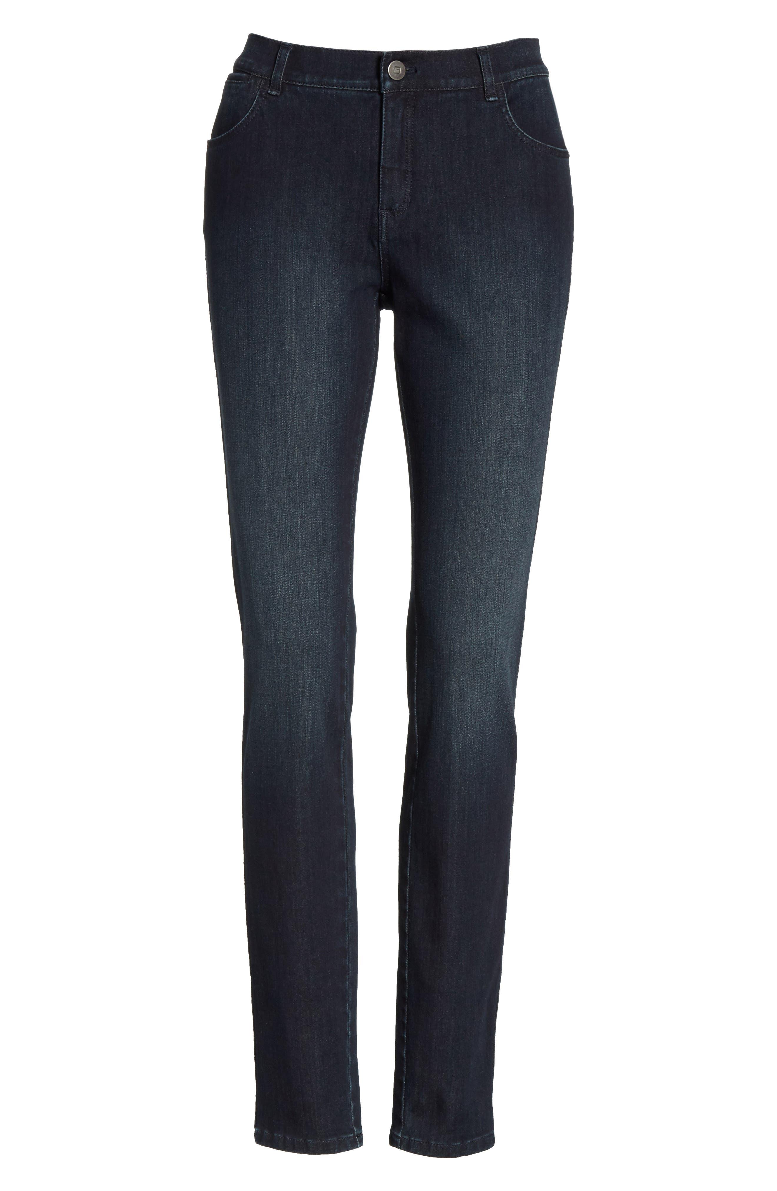 Mercer Skinny Jeans,                             Alternate thumbnail 7, color,                             Indigo