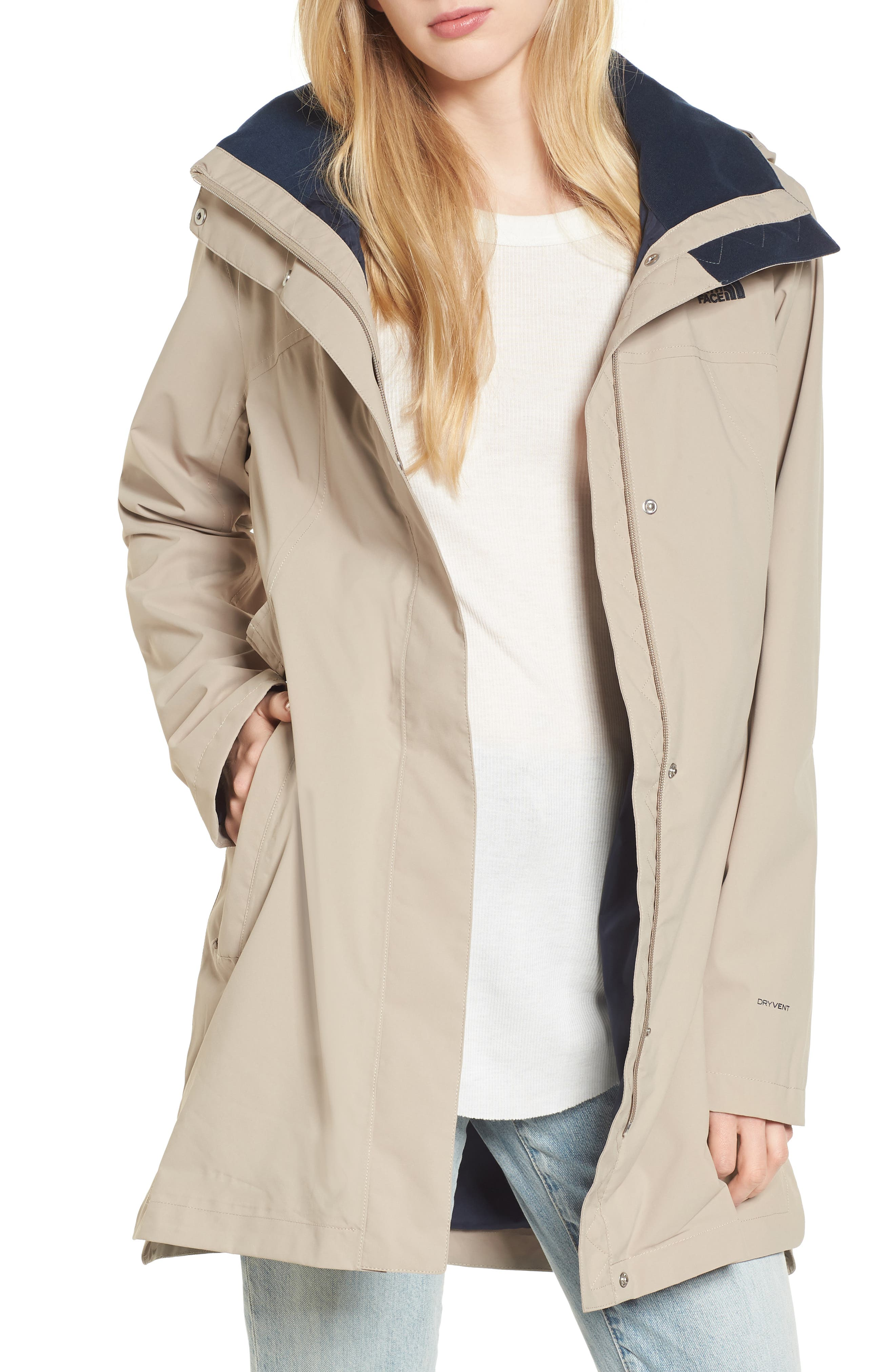 Main Image - The North Face Laney II Trench Raincoat