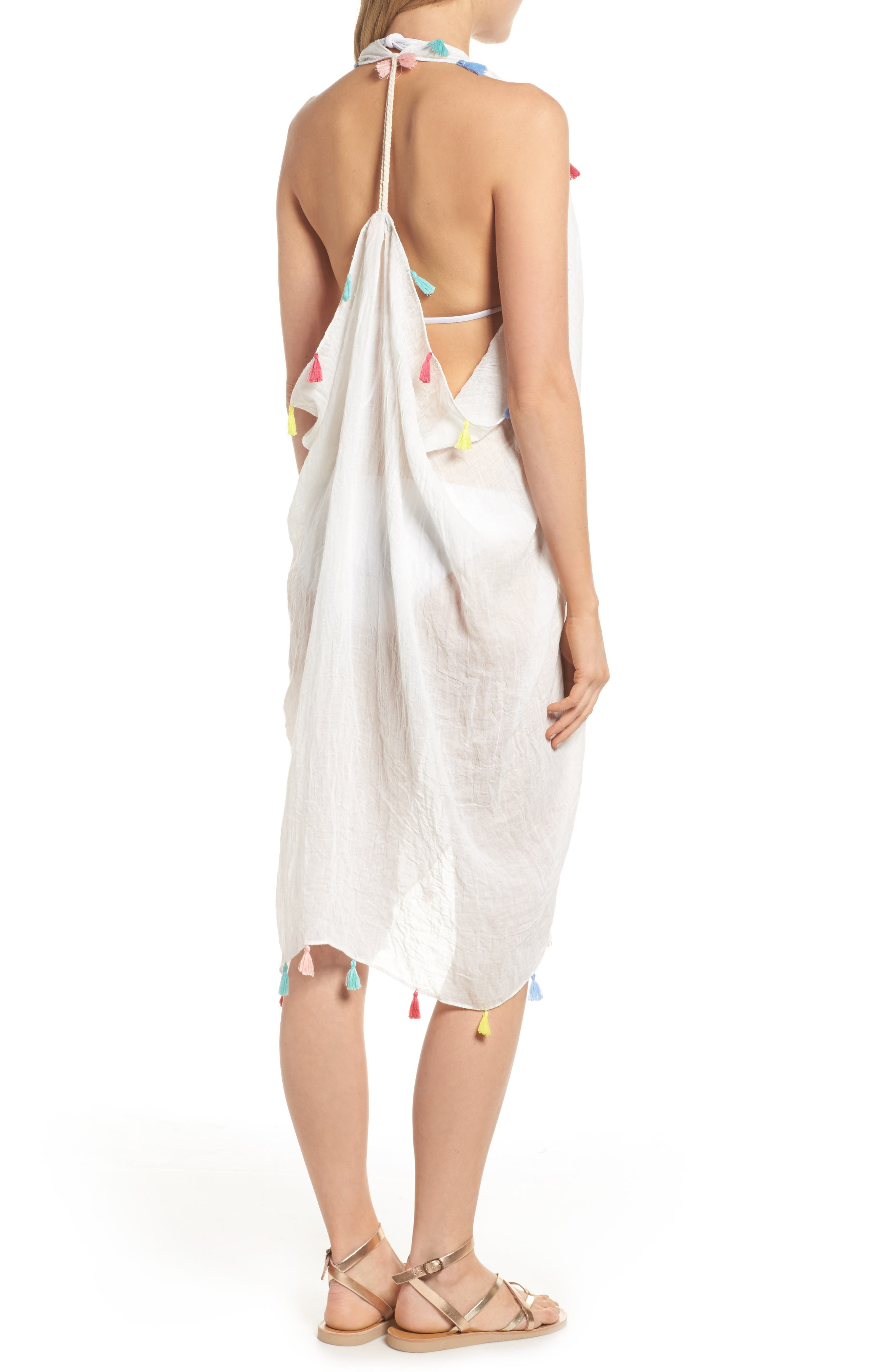 Alternate Image 5  - Pool to Party Spirit Cover-Up Vest