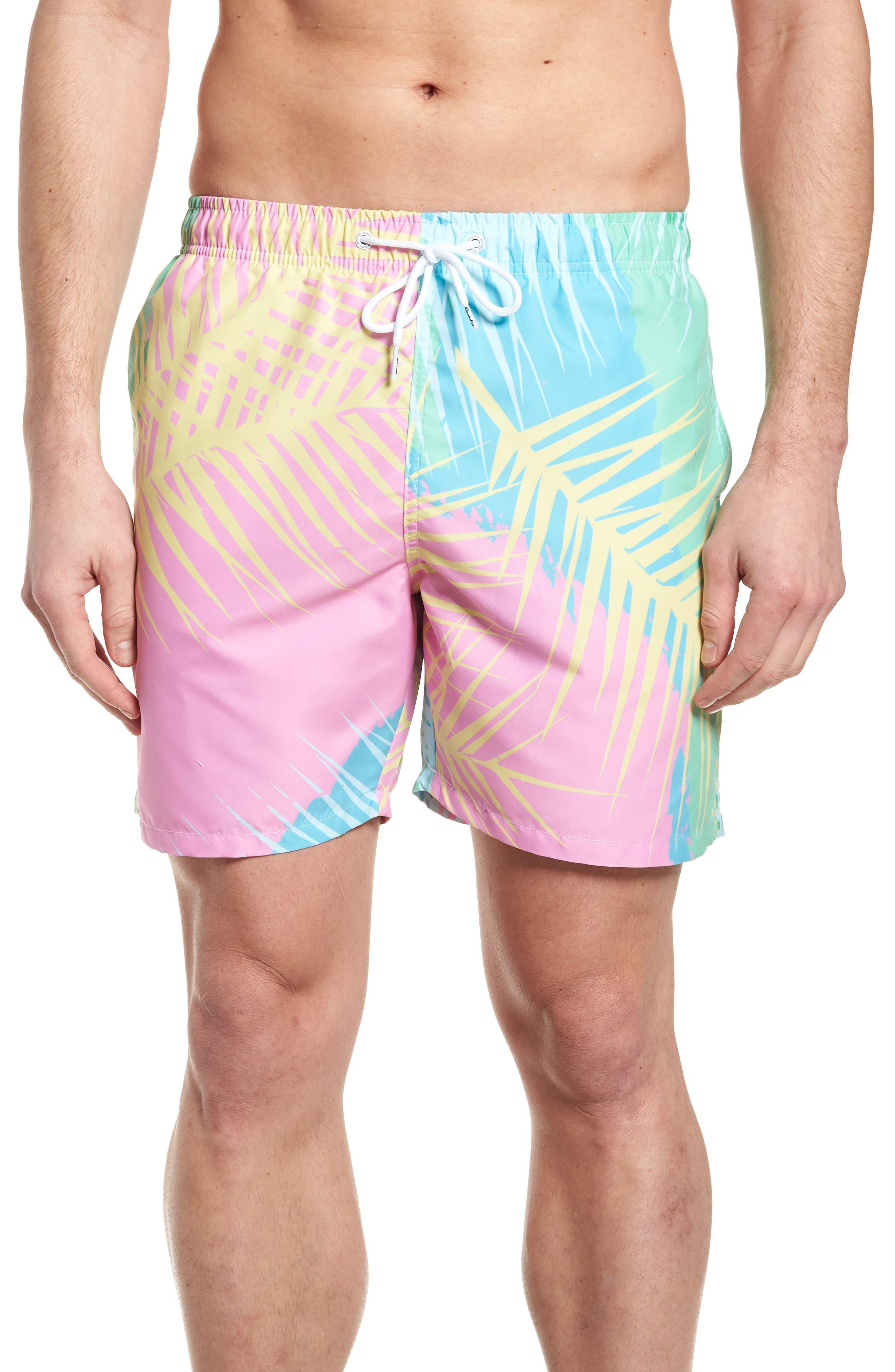 Tropicano Swim Trunks,                         Main,                         color, Multi