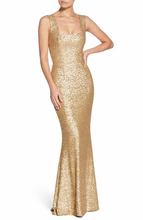 Dress The Potion Raven Sequin Gown