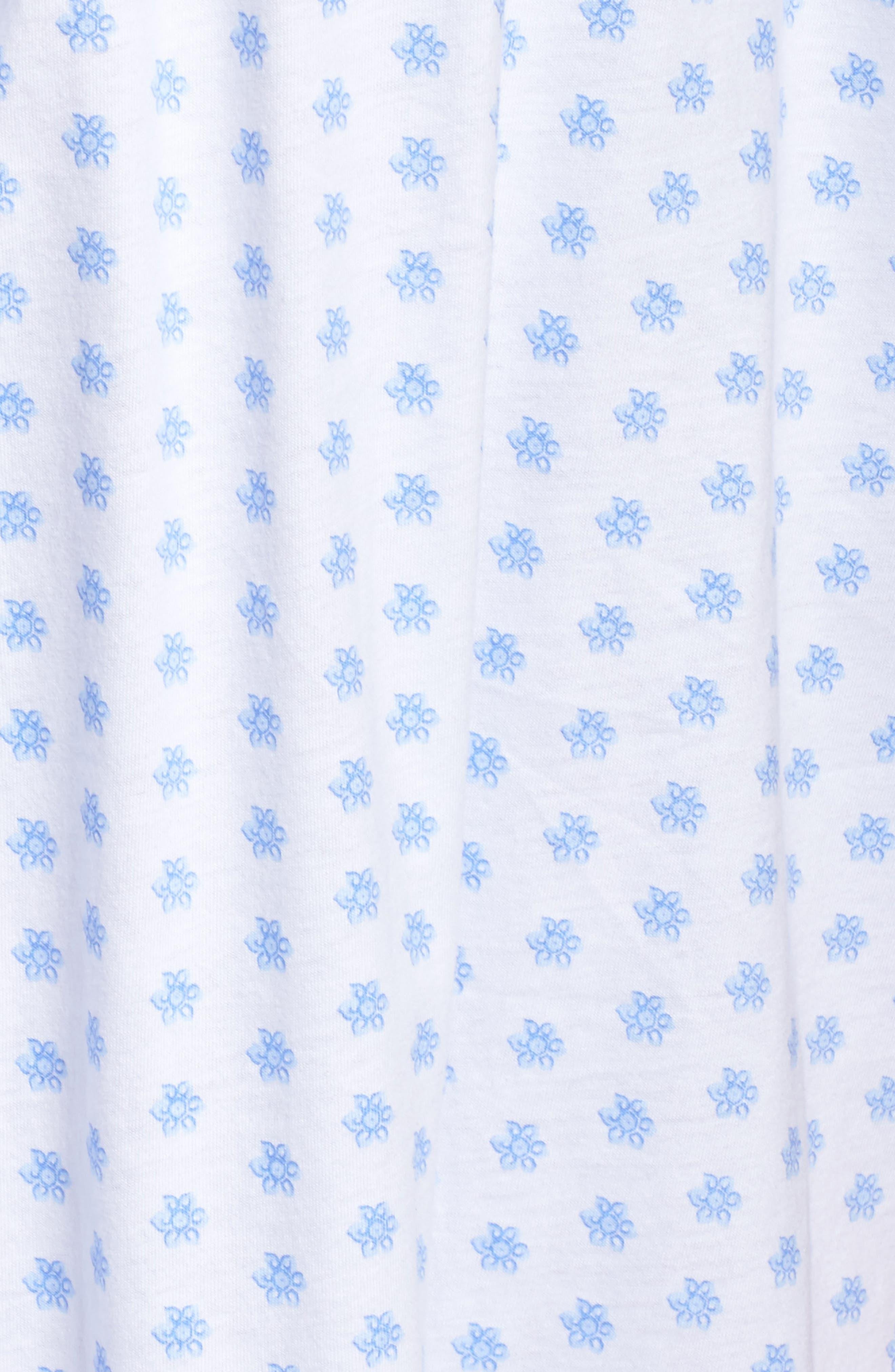 Alternate Image 6  - Eileen West Short Nightgown (Plus Size)