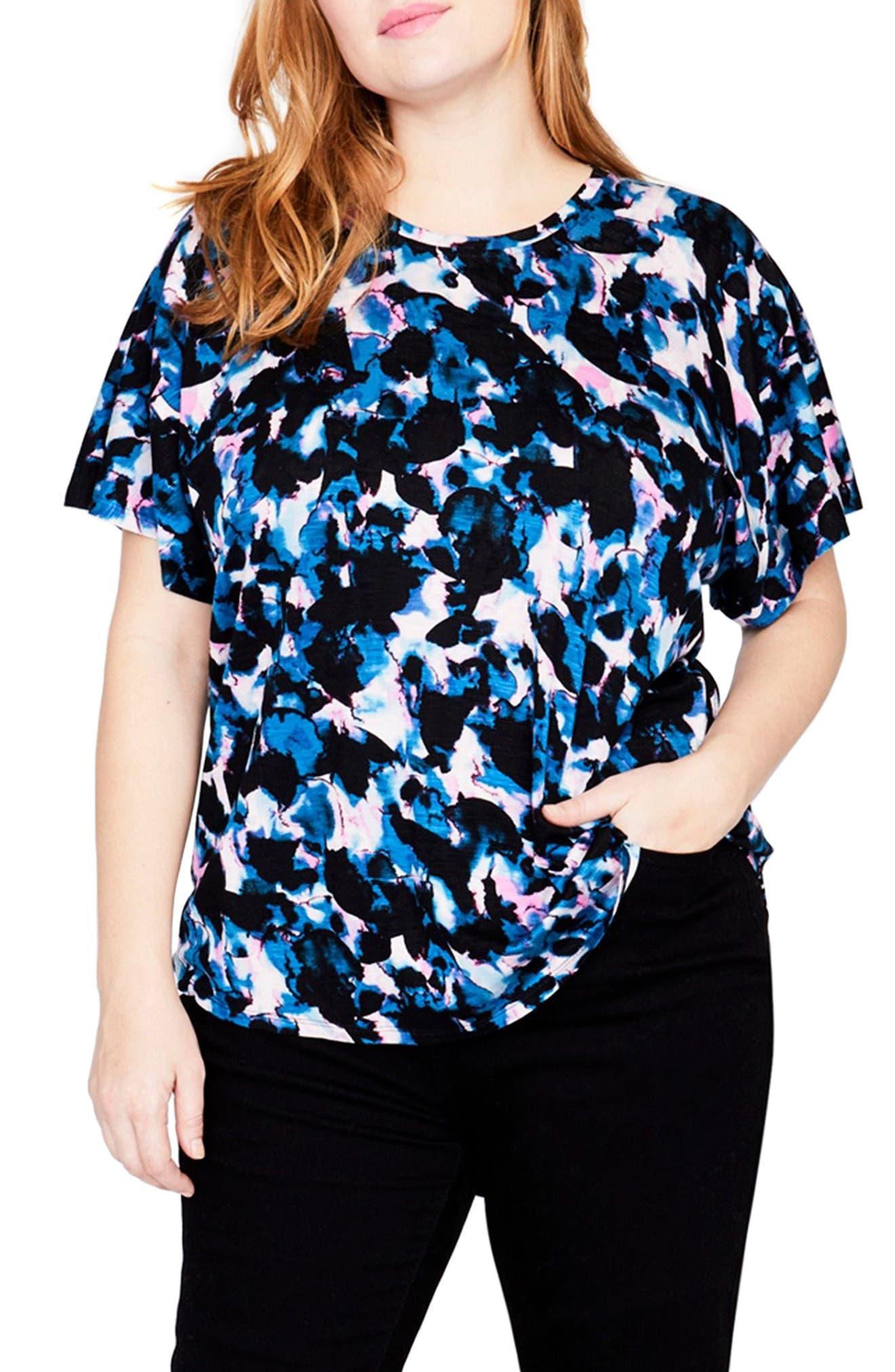 RACHEL Rachel Roy Drape Front Shirt (Plus Size)