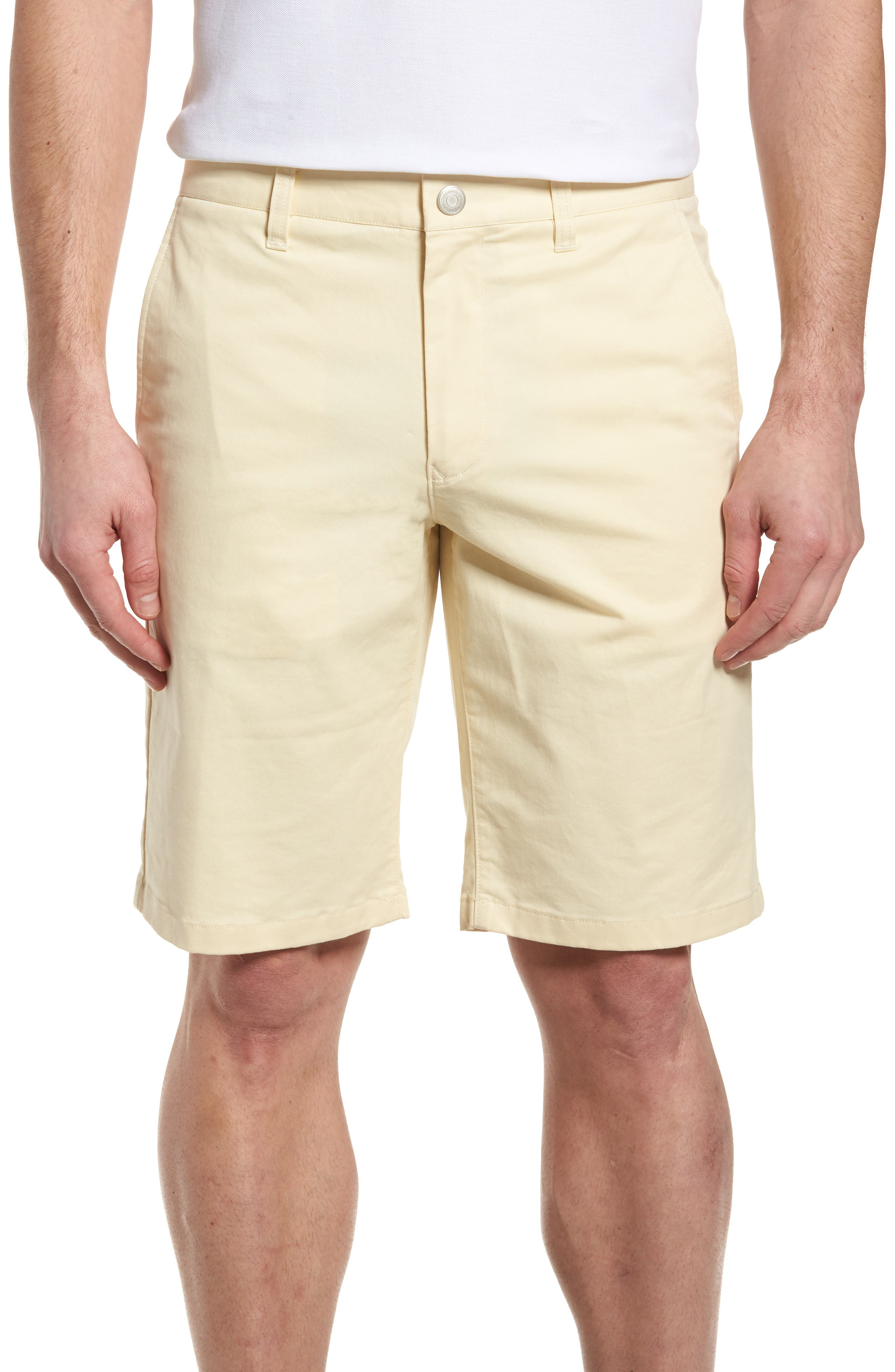 Stretch Washed Chino 11-Inch Shorts,                             Main thumbnail 1, color,                             Sun In