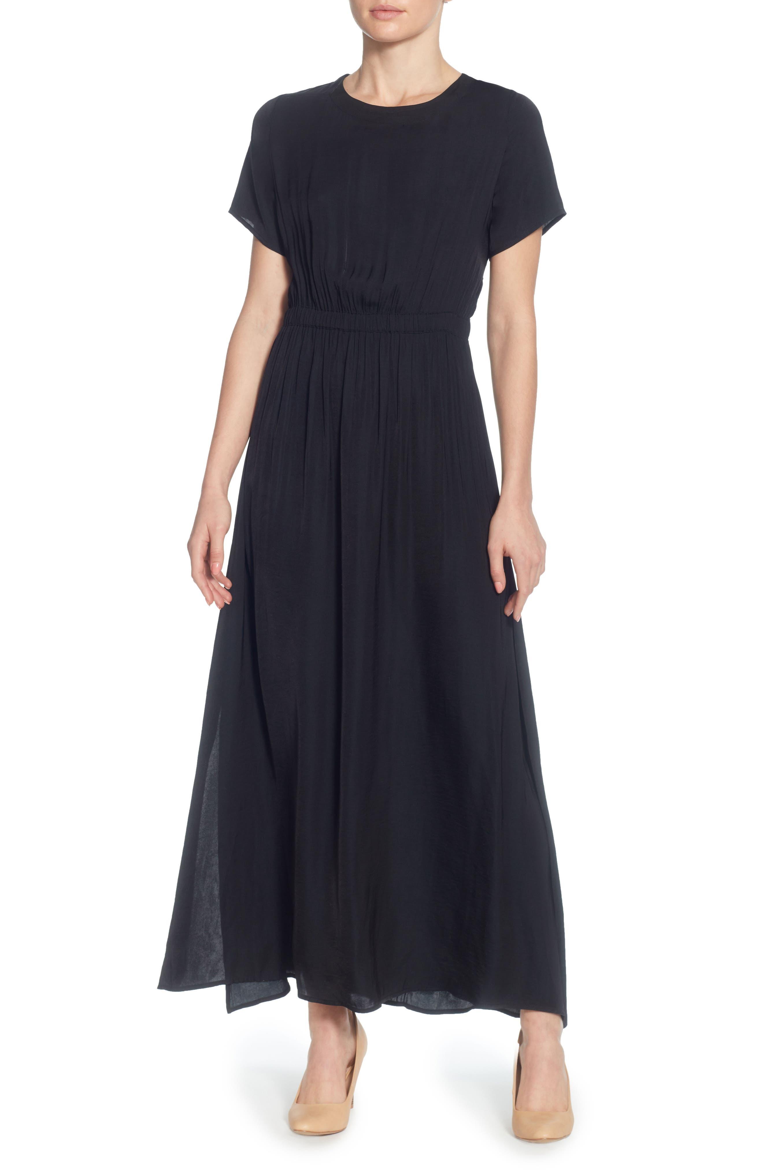 Lua Maxi Dress,                             Main thumbnail 1, color,                             Black