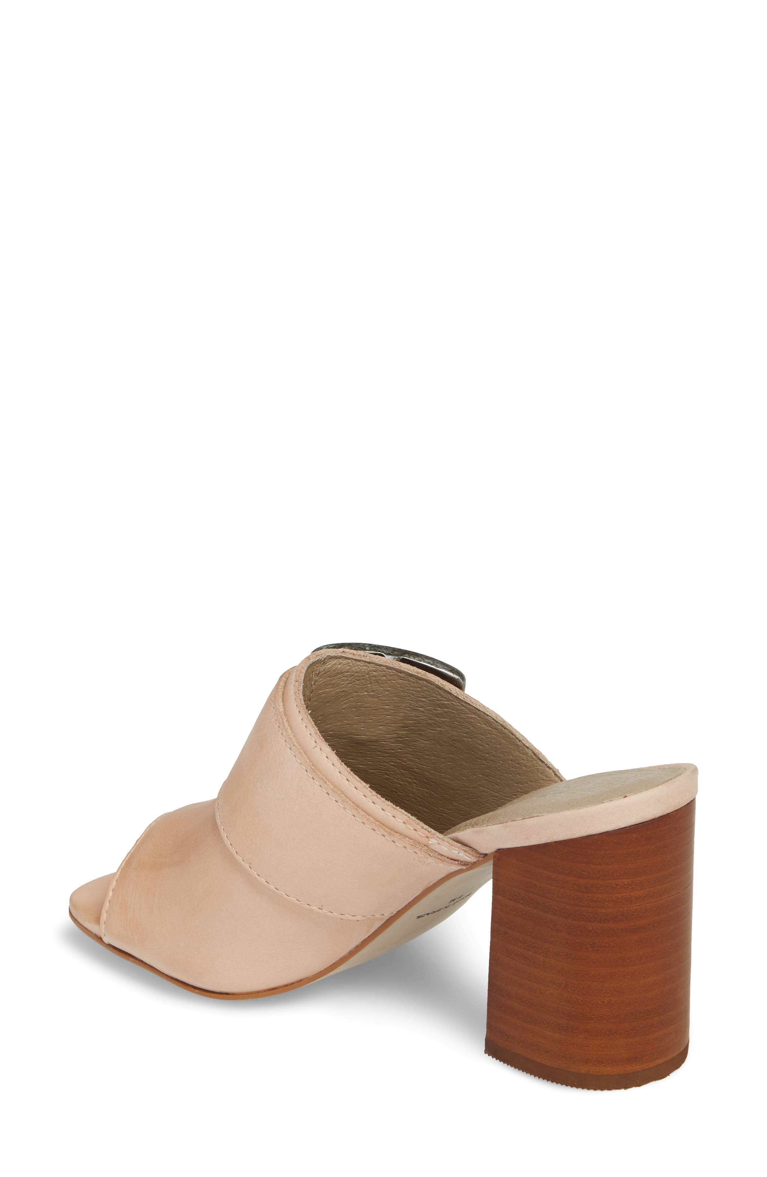 Beatrice Sandal,                             Alternate thumbnail 2, color,                             Nude Leather