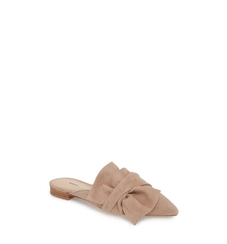 DAna Knotted Loafer Mule