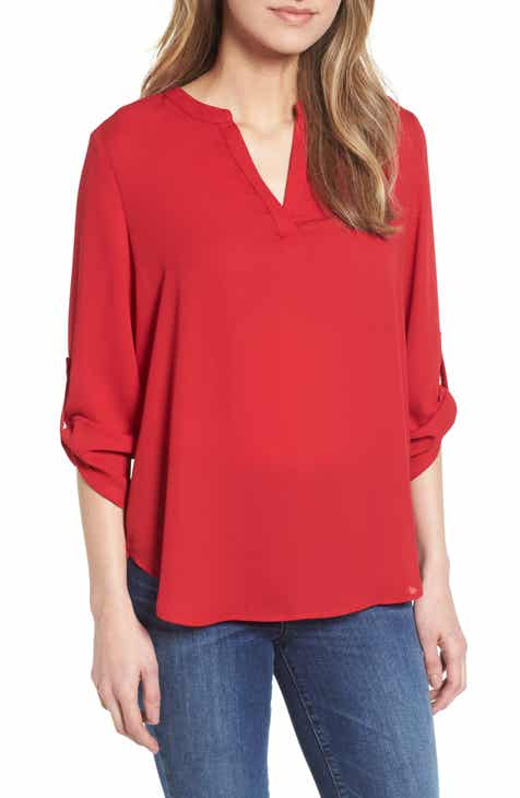8c8d732d12c4 Everleigh Roll-Tab Sleeve Tunic