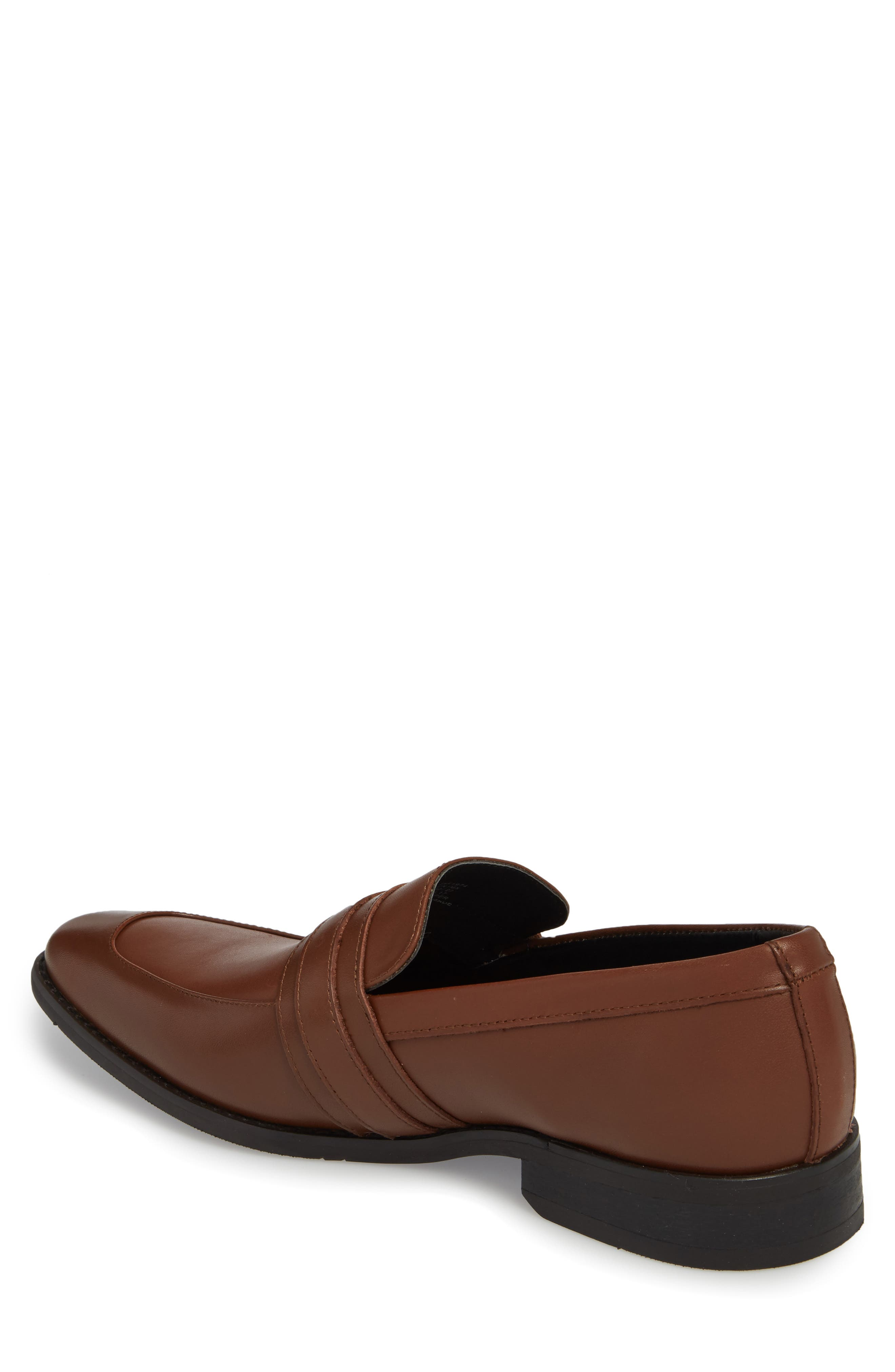 Reyes Loafer,                             Alternate thumbnail 2, color,                             Tan Leather
