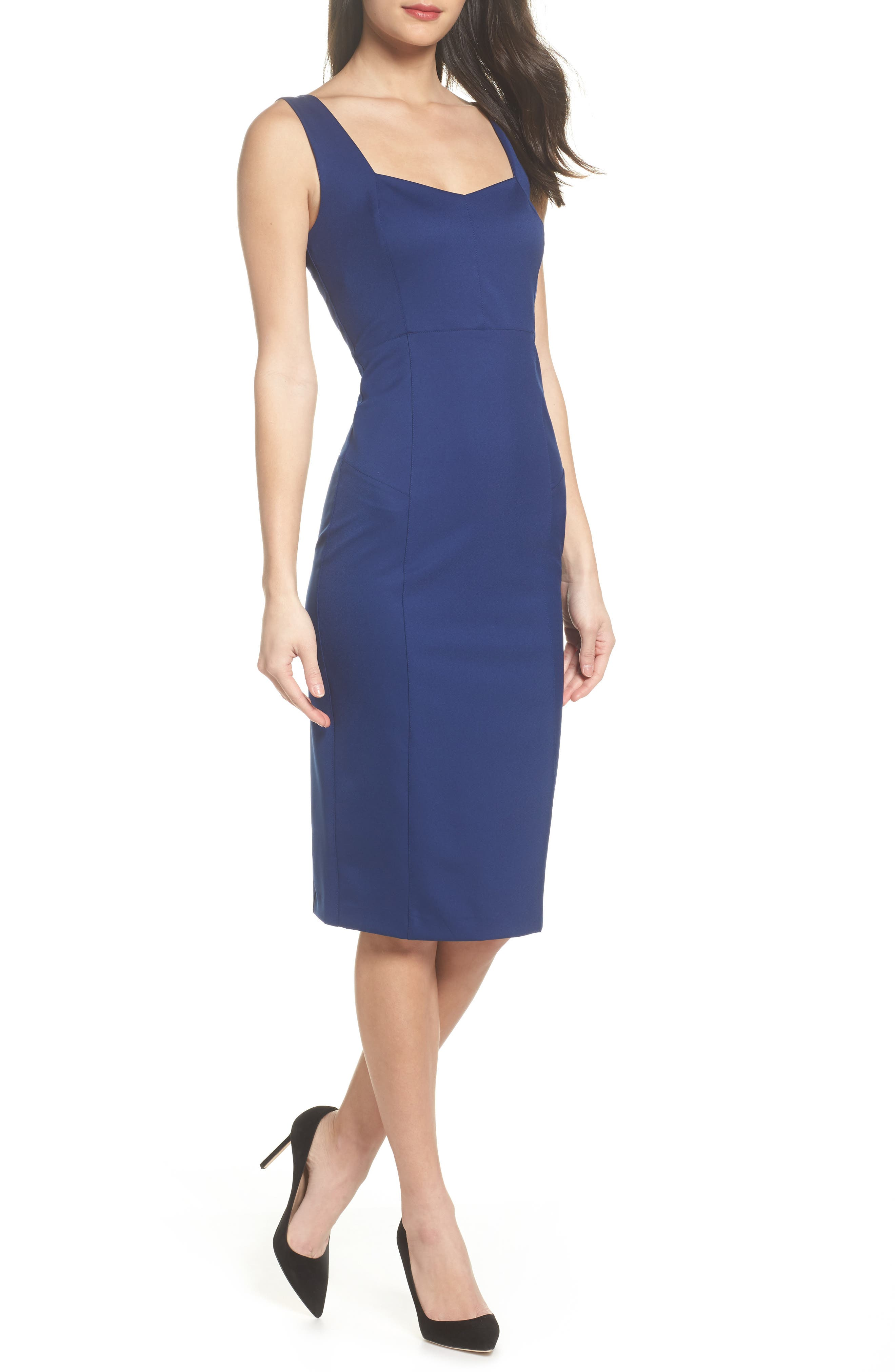 Felicity & Coco Mirren Midi Body-Con Dress