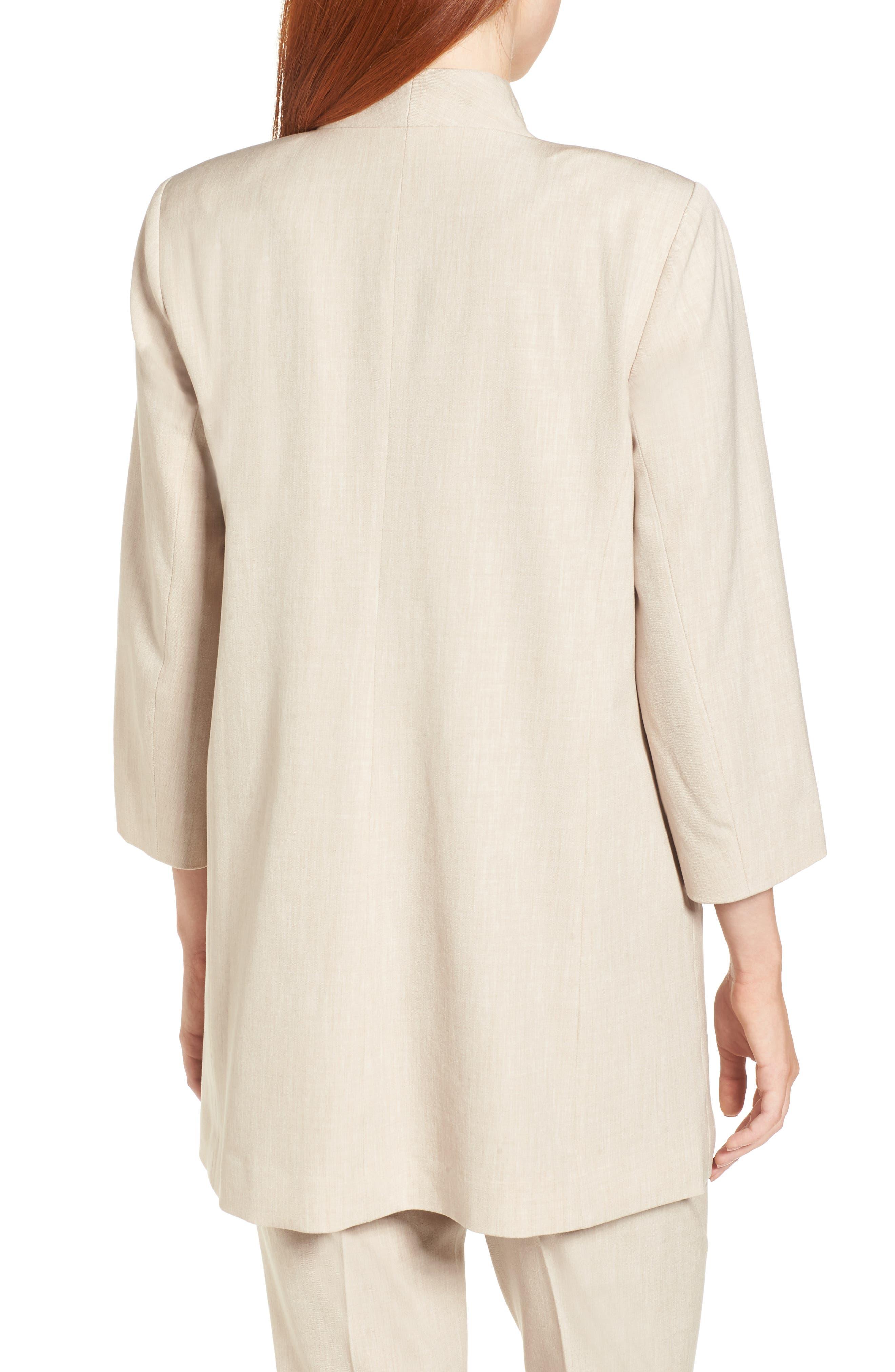 Alternate Image 2  - Eileen Fisher Long Open Front Jacket