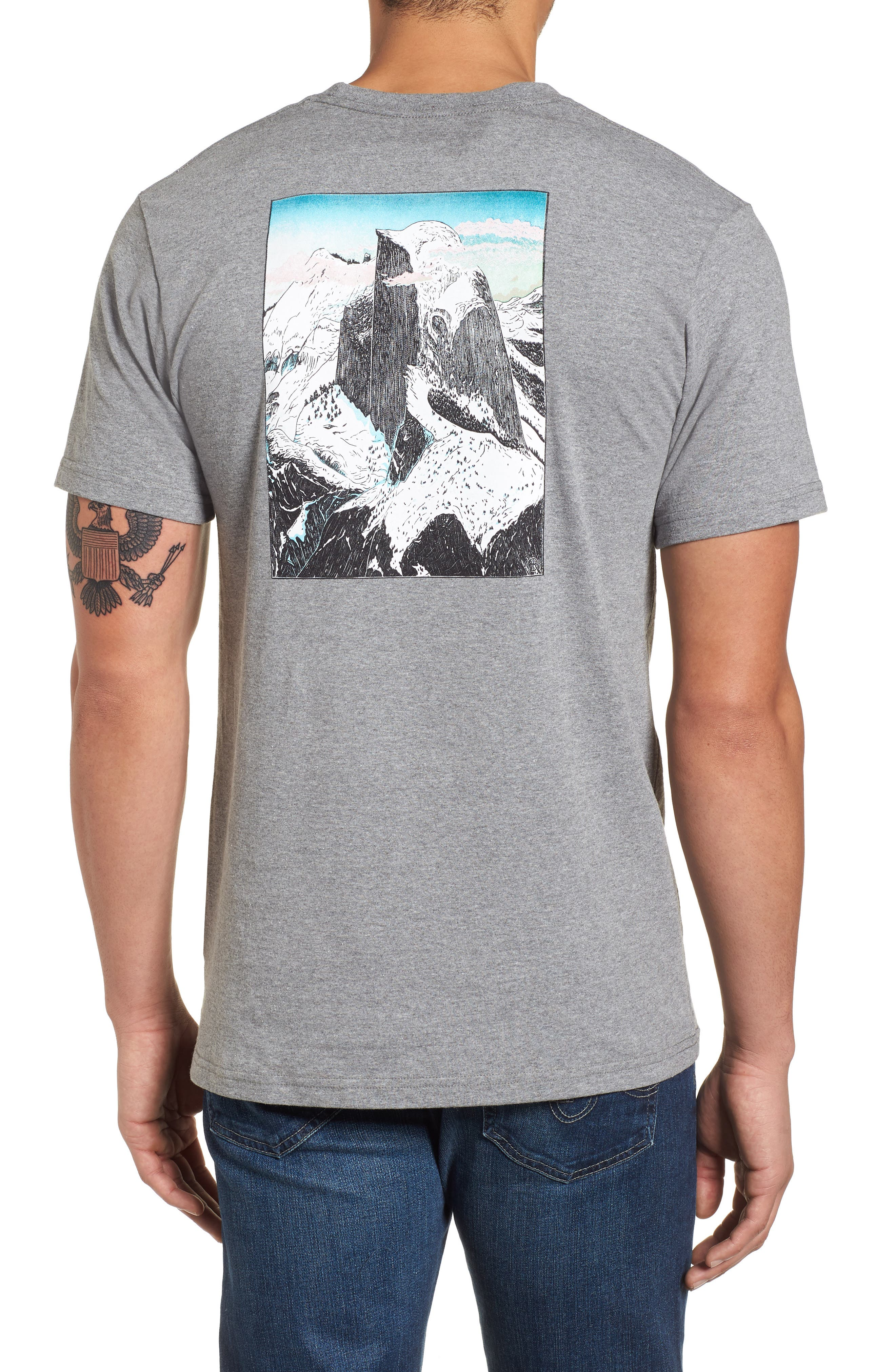 Glacier View Rising Responsibili-Tee T-Shirt,                             Alternate thumbnail 2, color,                             Gravel Hunter