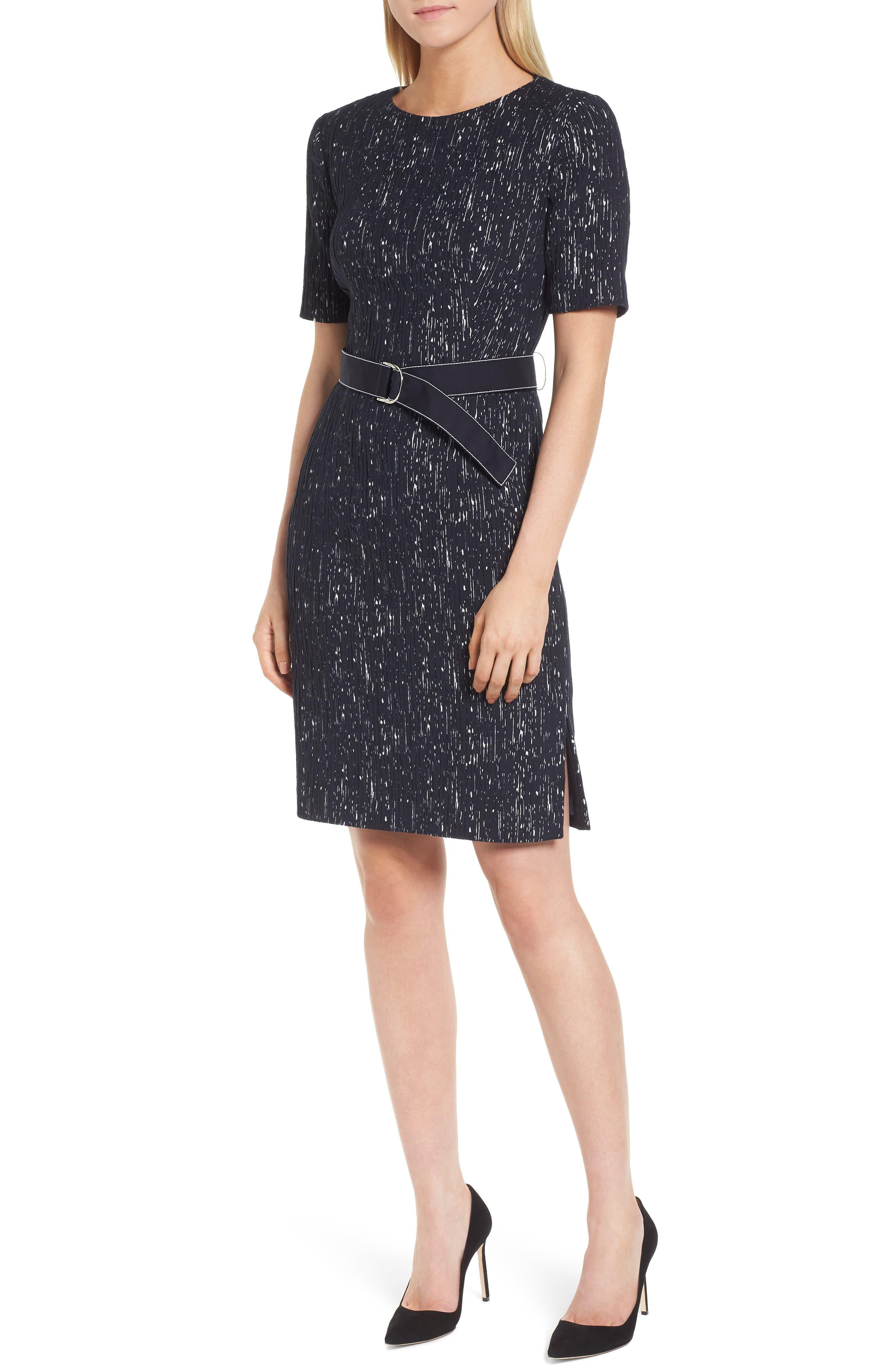 BOSS Deleara Sheath Dress (Regular & Petite)