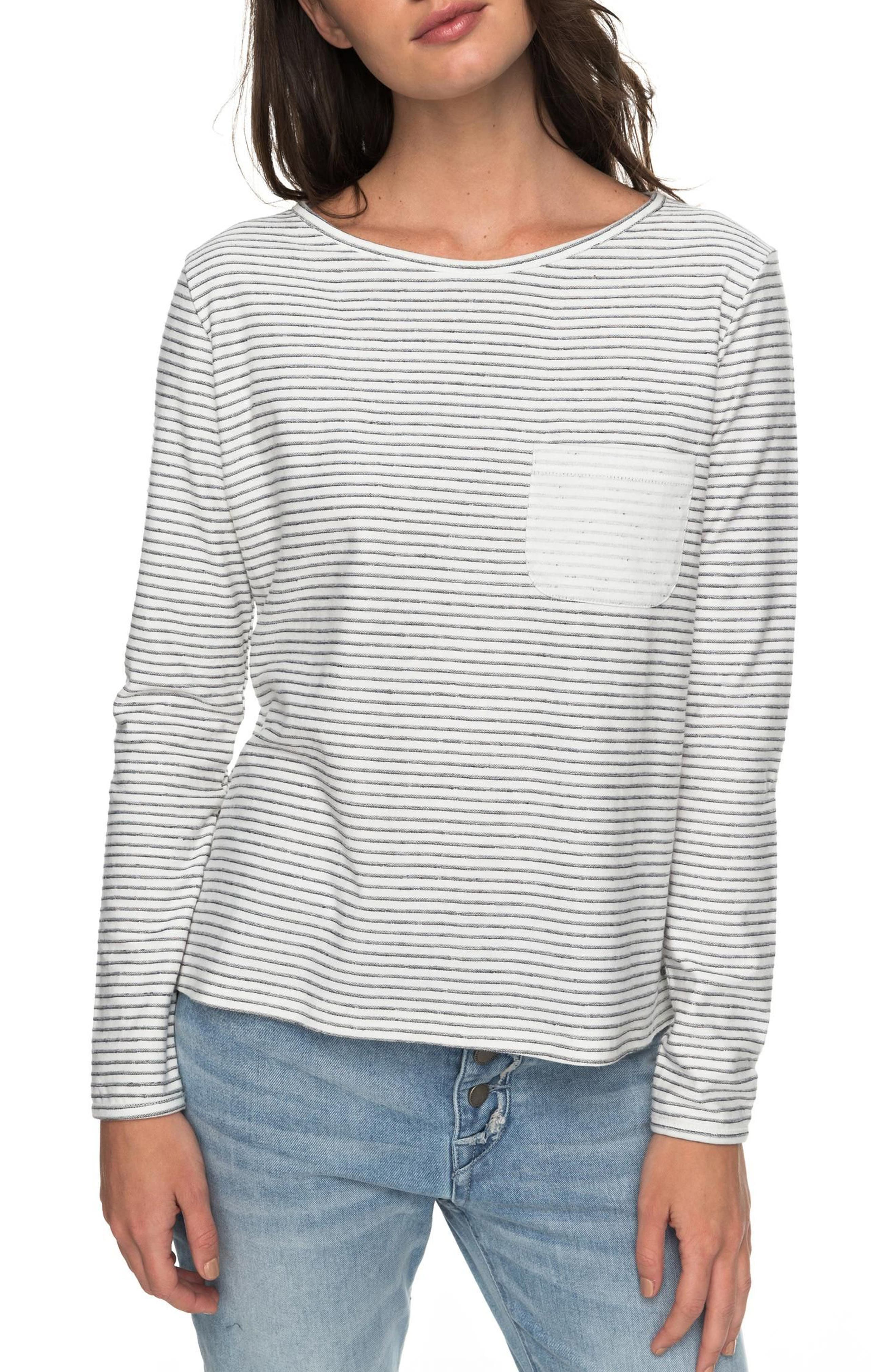 Slice of Heaven Side Tie Top,                         Main,                         color, Marshmallow