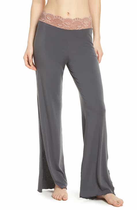 Samantha Chang Lace Trim Pants by SAMANTHA CHANG