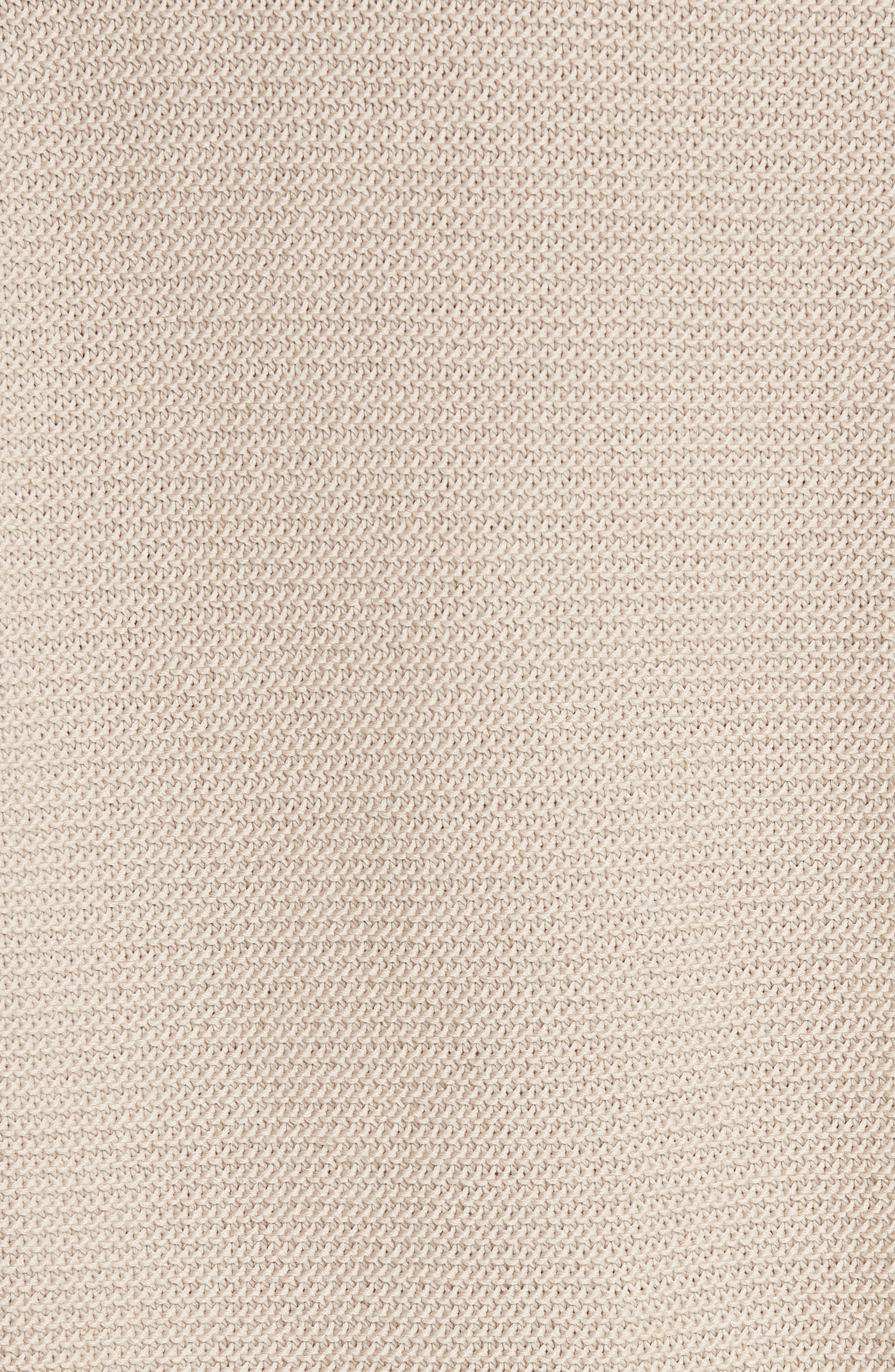 Cotton & Silk Sweater,                             Alternate thumbnail 5, color,                             Khaki