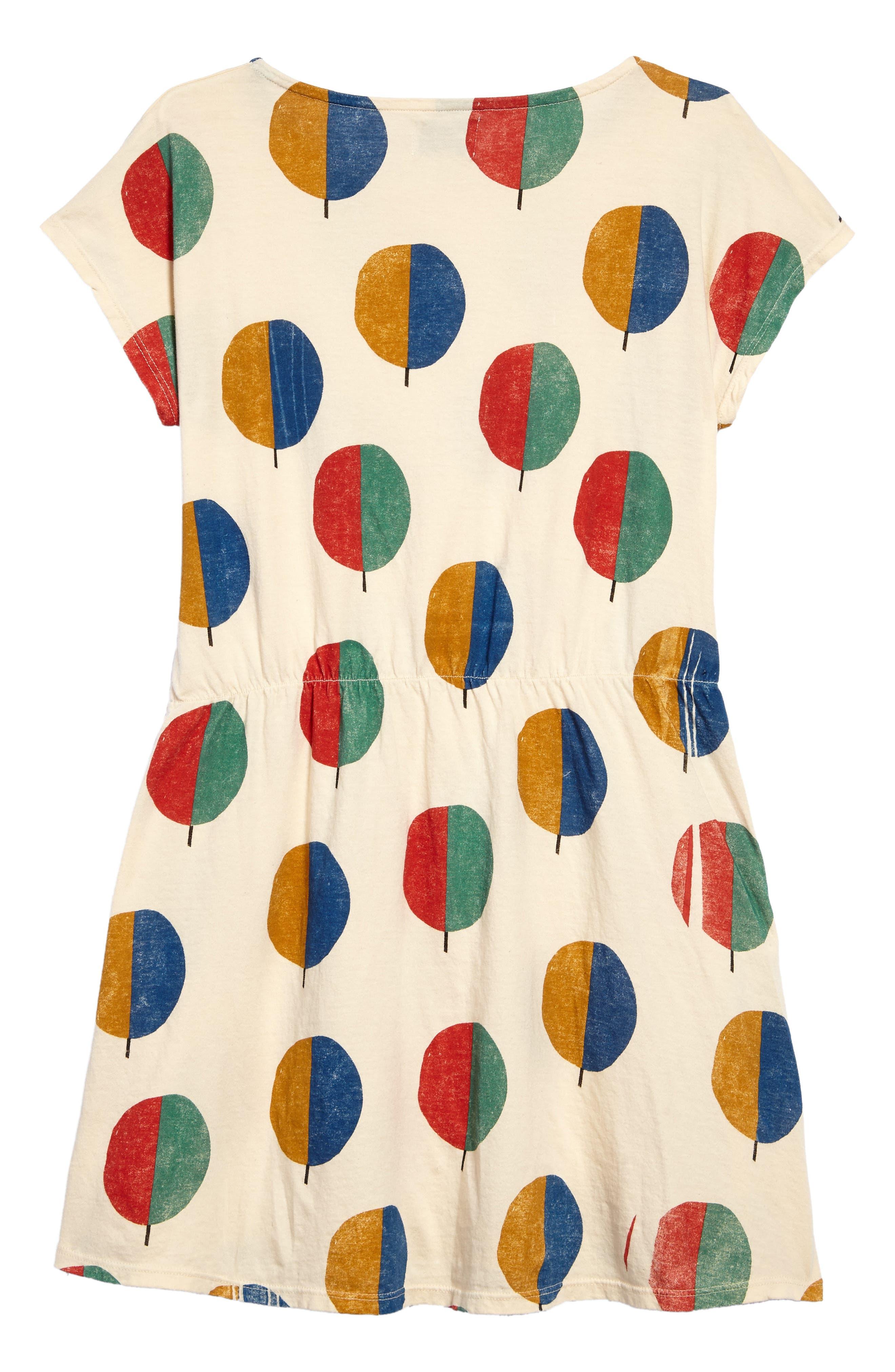 Forest Dress,                             Alternate thumbnail 2, color,                             Buttercream