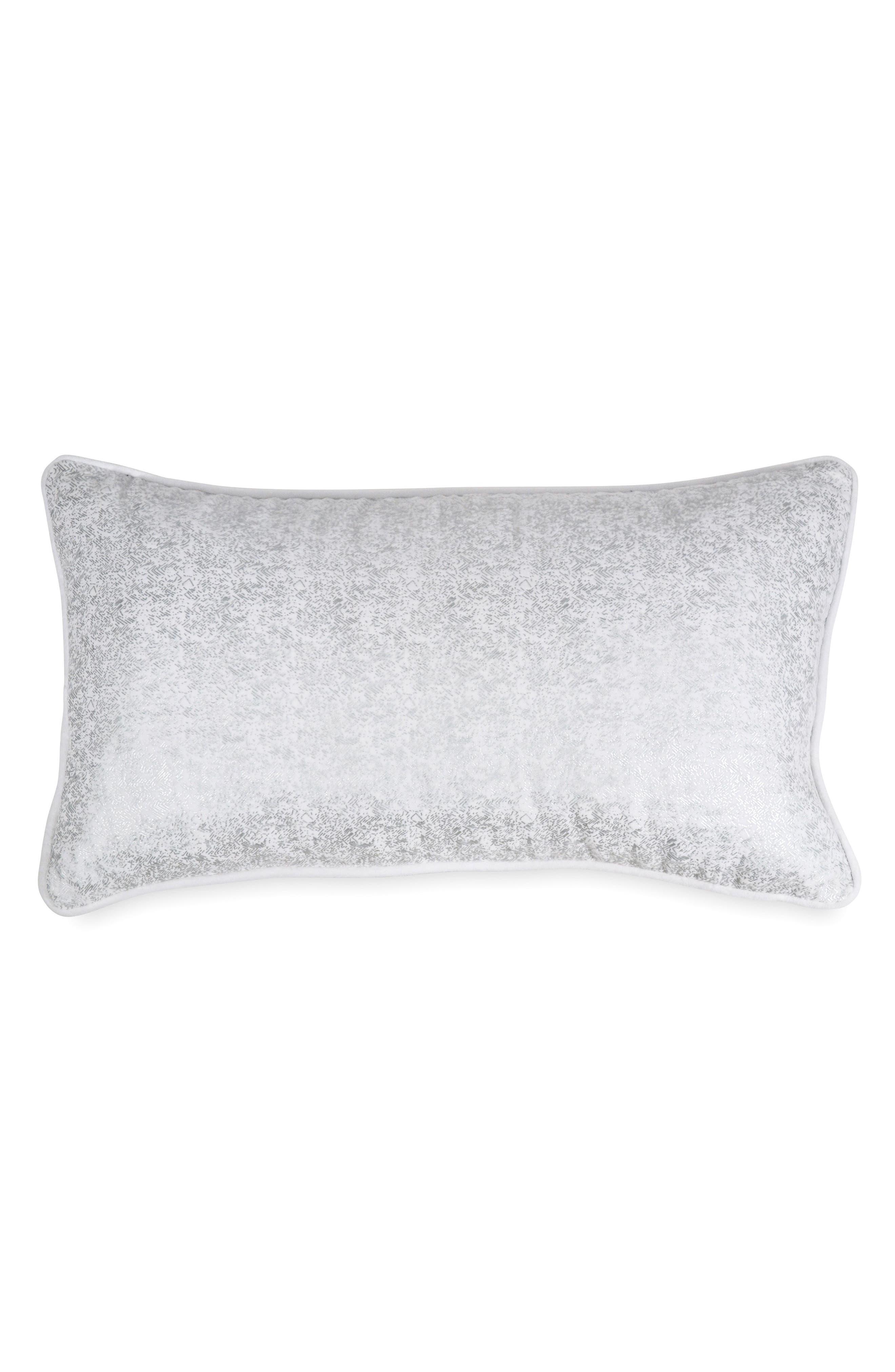Motion Velvet Accent Pillow,                         Main,                         color, Oatmeal