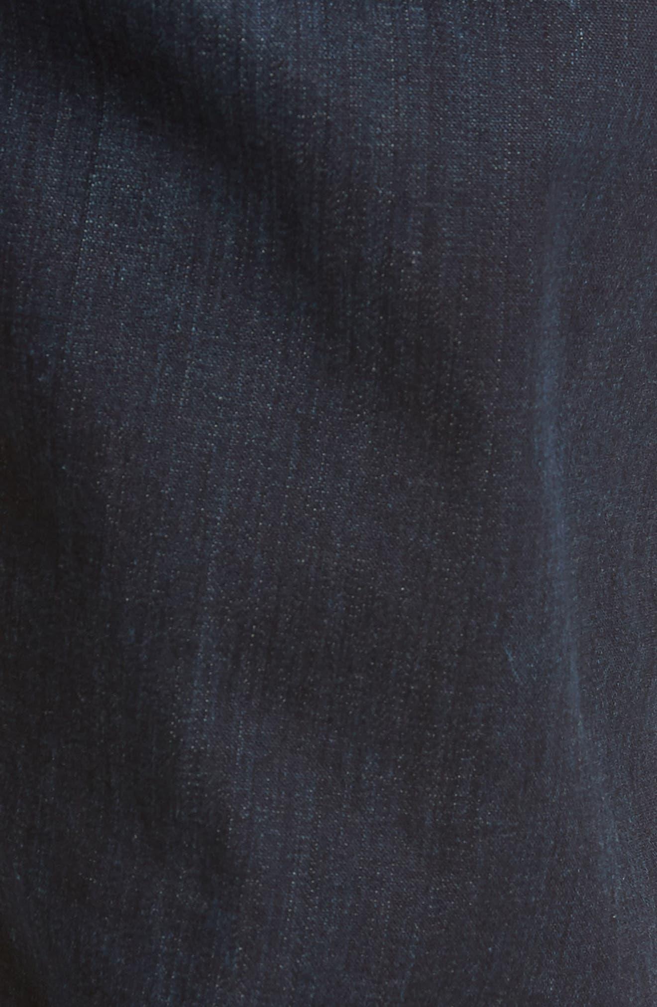 Gage Slim Straight Leg Jeans,                             Alternate thumbnail 5, color,                             Newman
