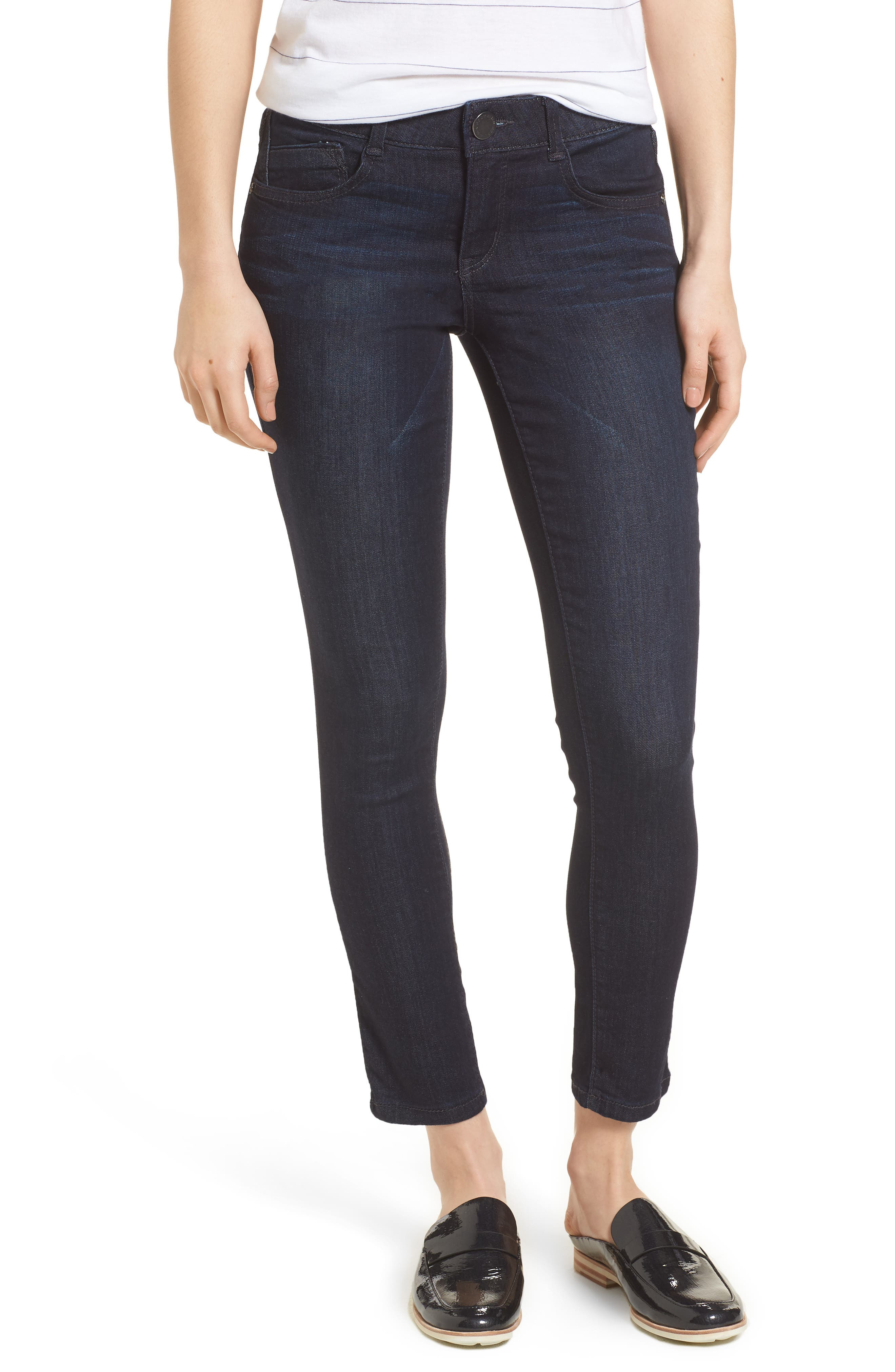 Ab-solution Ankle Skimmer Jeans,                         Main,                         color, In- Indigo