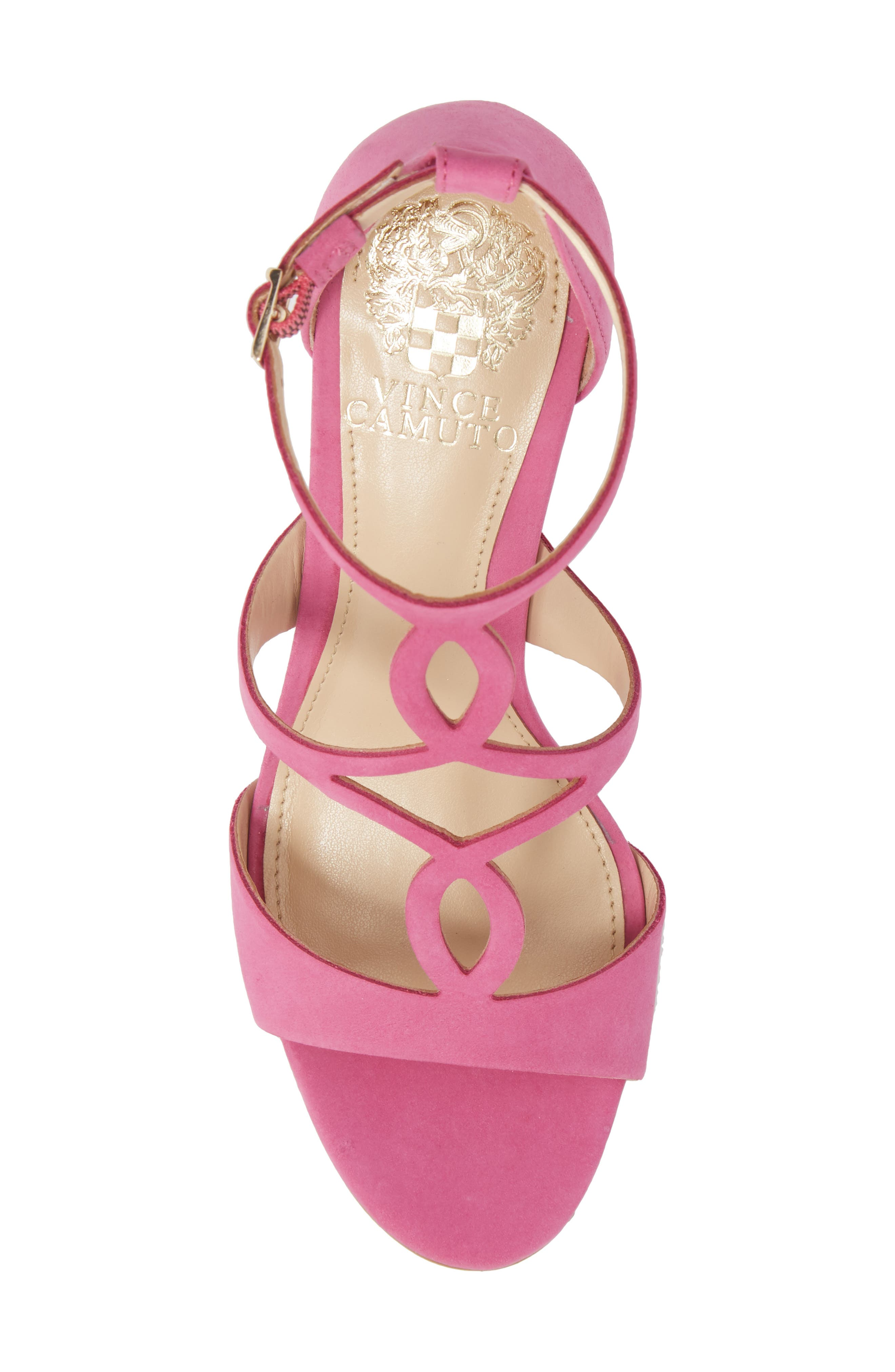 Payto Sandal,                             Alternate thumbnail 5, color,                             Pink Leather