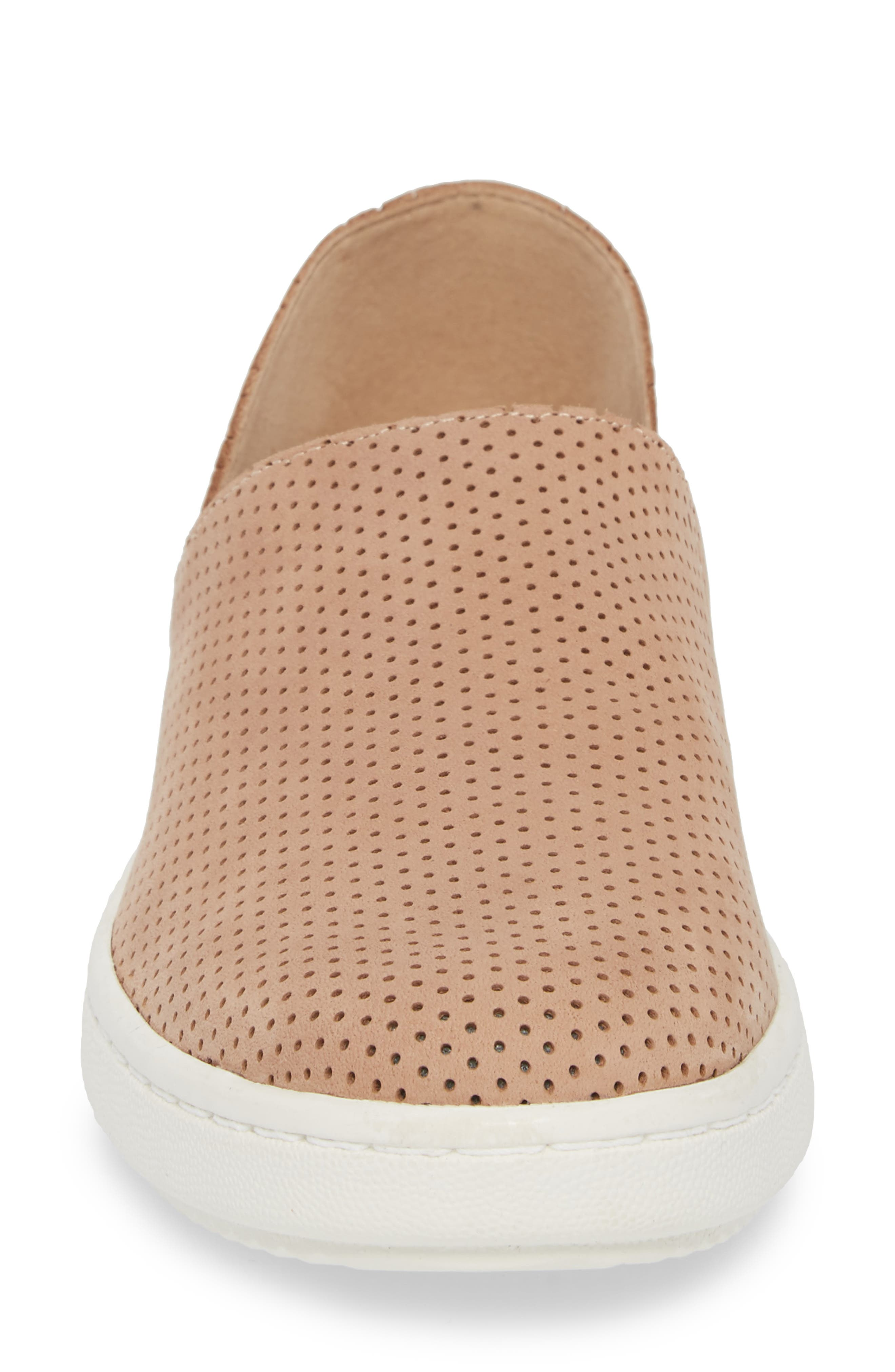 Alternate Image 4  - Eileen Fisher Panda Perforated Slip-On Sneaker (Women)