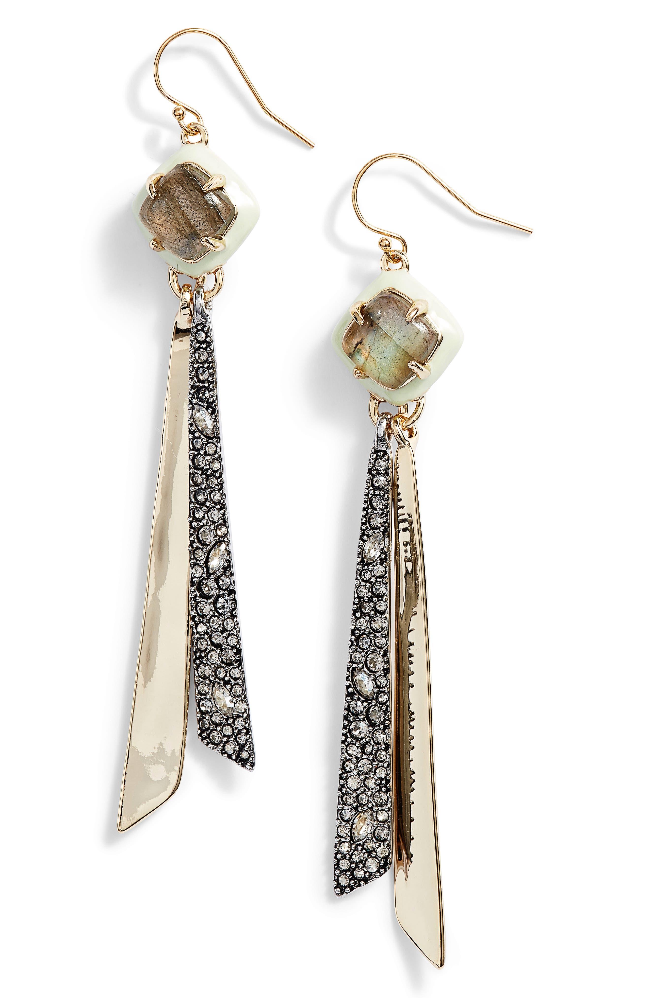 Alexis Bittar Enamel Tassel Earrings