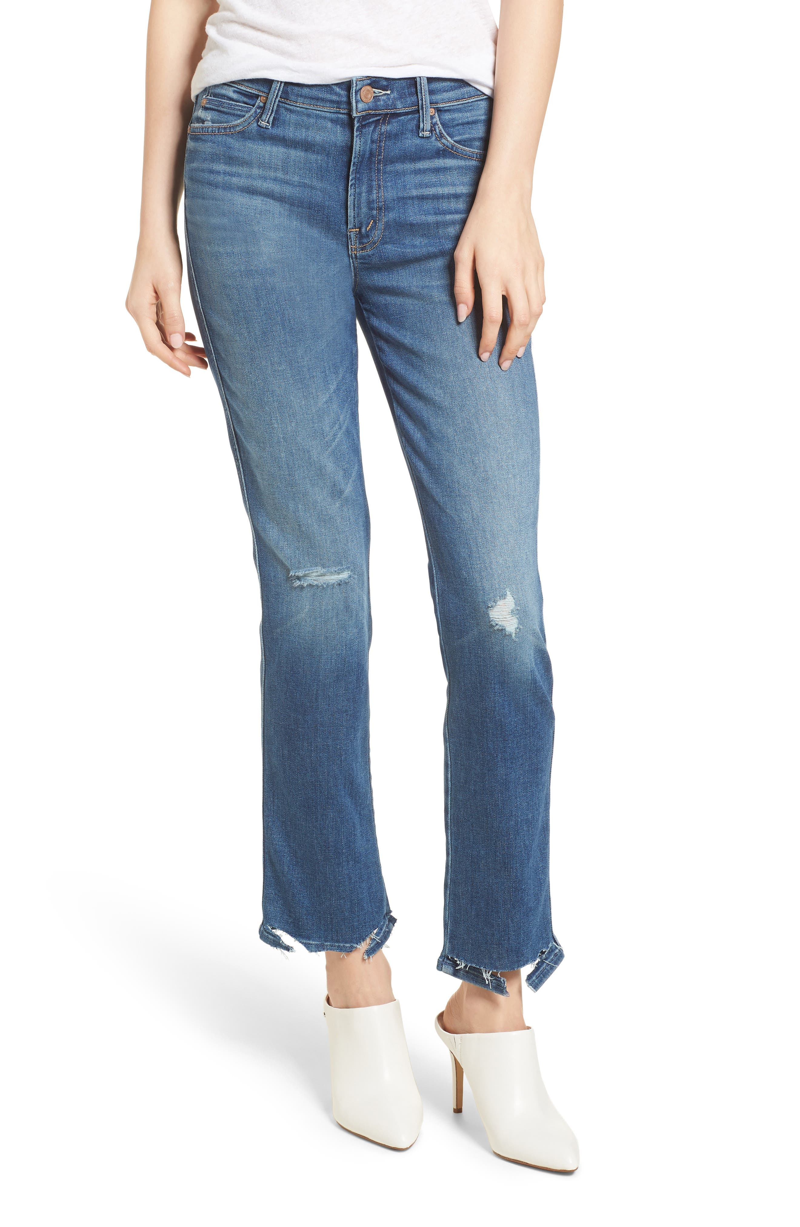 The Rascal Ankle Straight Leg Jeans,                             Main thumbnail 1, color,                             Wild