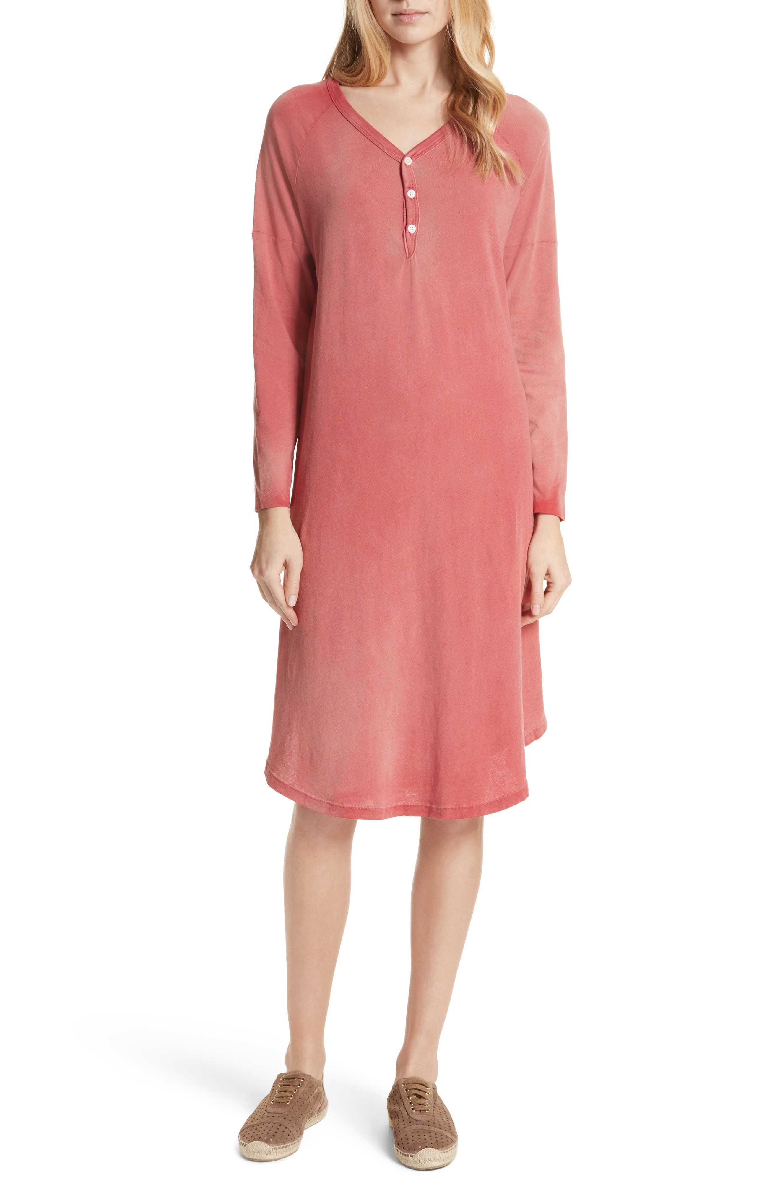 The Rugby Dress,                         Main,                         color, Rhubarb