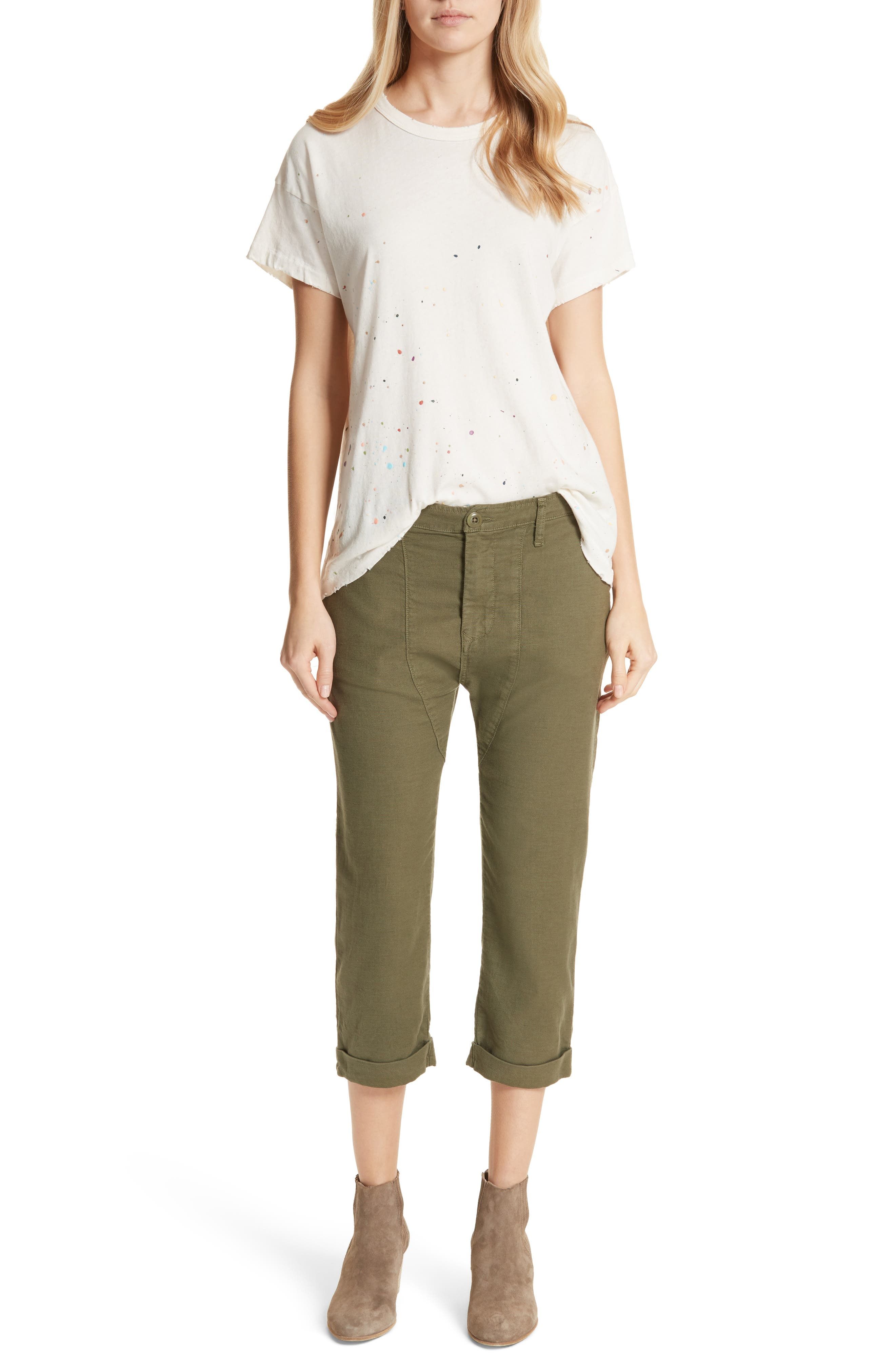 The Saddle Trouser,                             Alternate thumbnail 7, color,                             Army