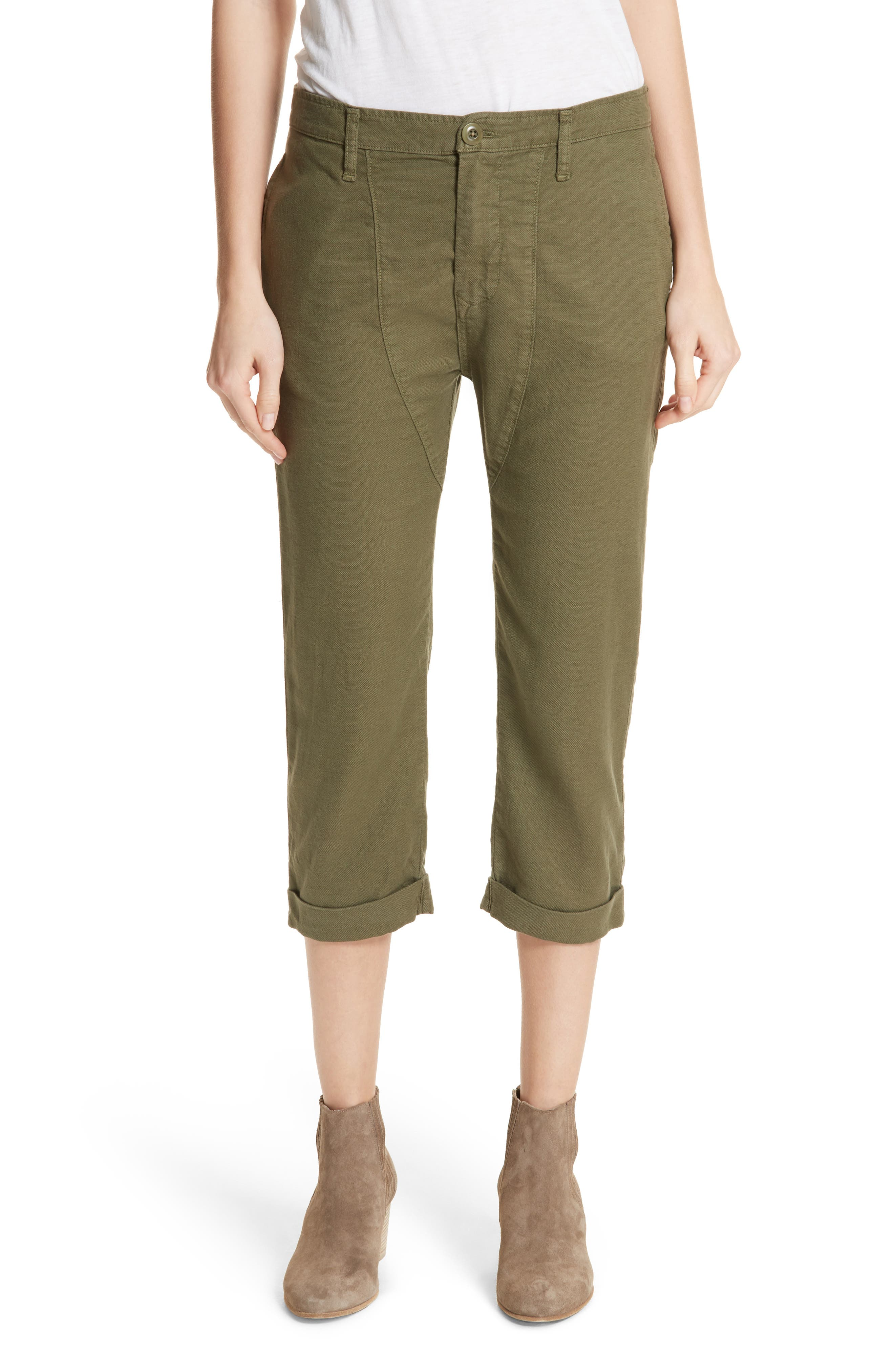 The Saddle Trouser,                             Main thumbnail 1, color,                             Army