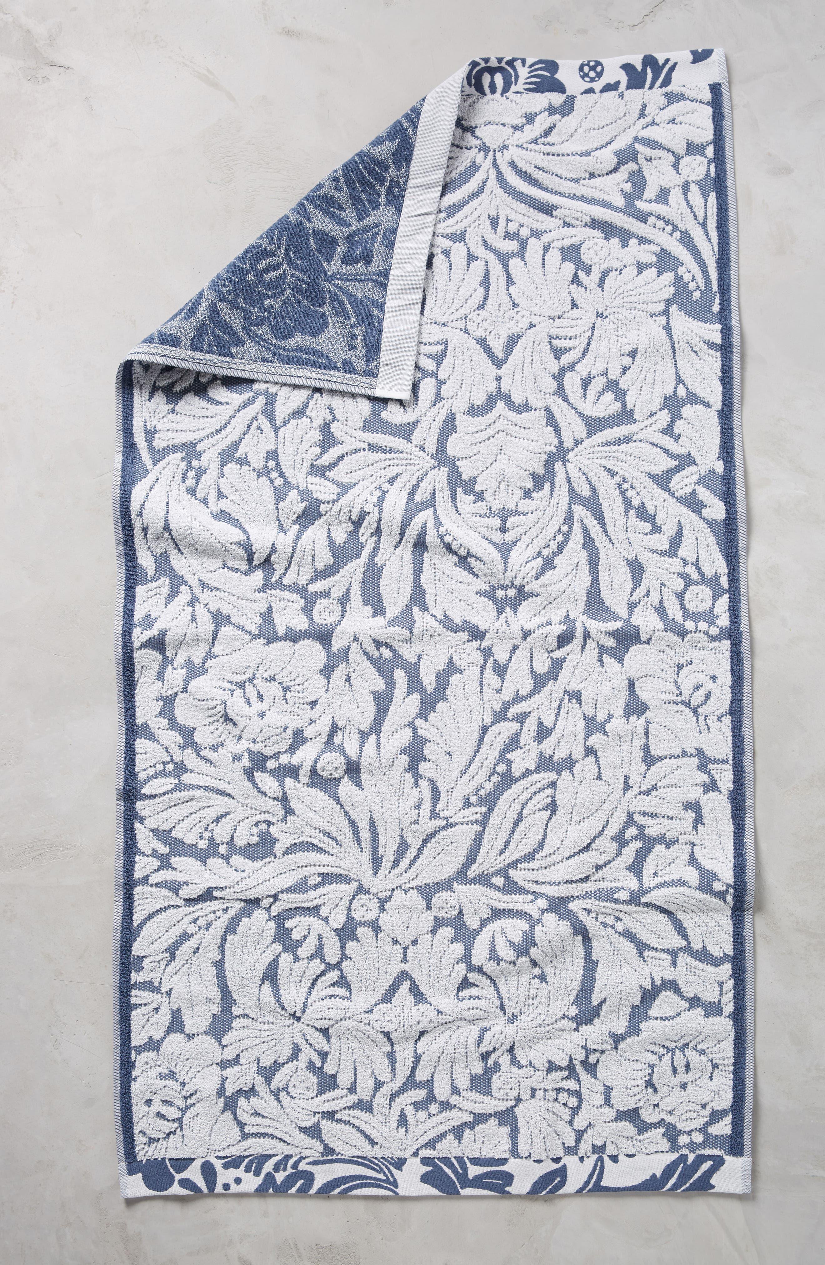 Mae Bath Towel,                             Main thumbnail 1, color,                             Slate