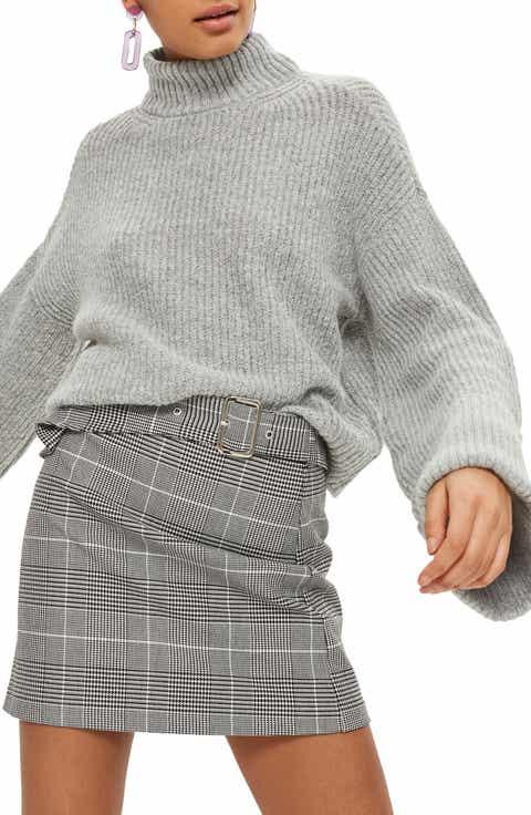 Topshop Turn Back Cuff Rib Sweater