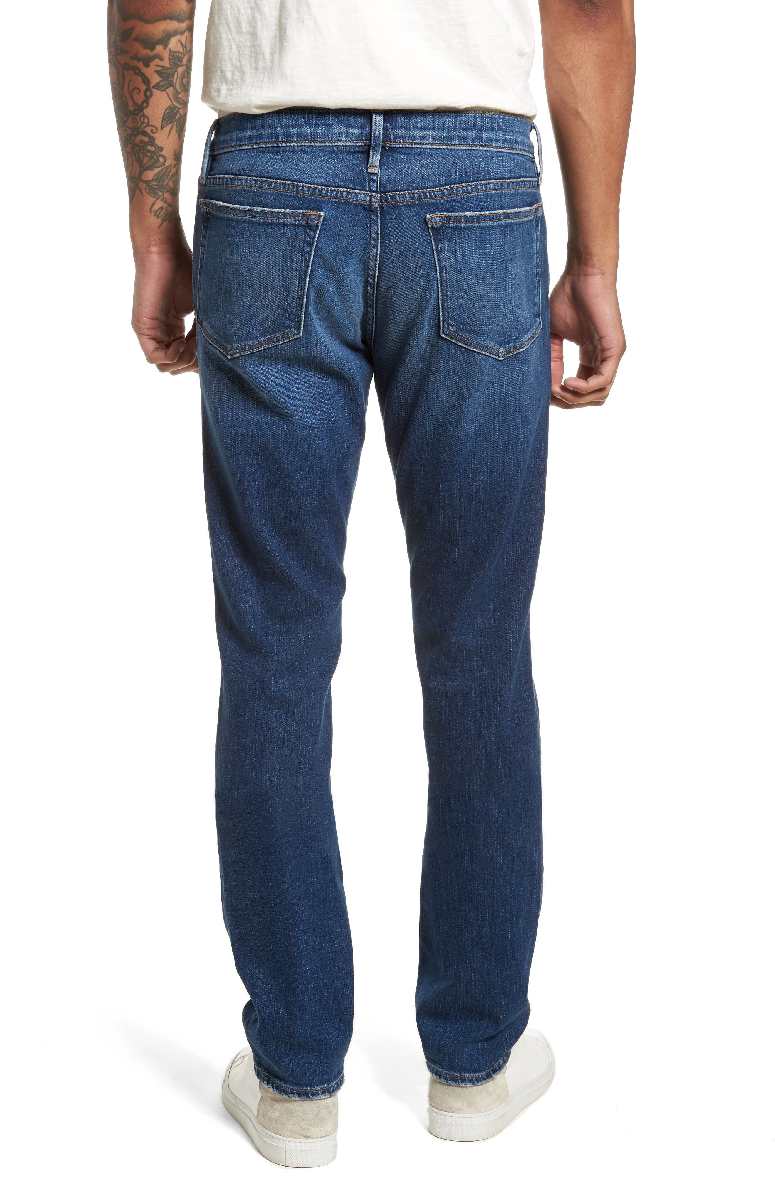 L'Homme Skinny Fit Jeans,                             Alternate thumbnail 2, color,                             Francis